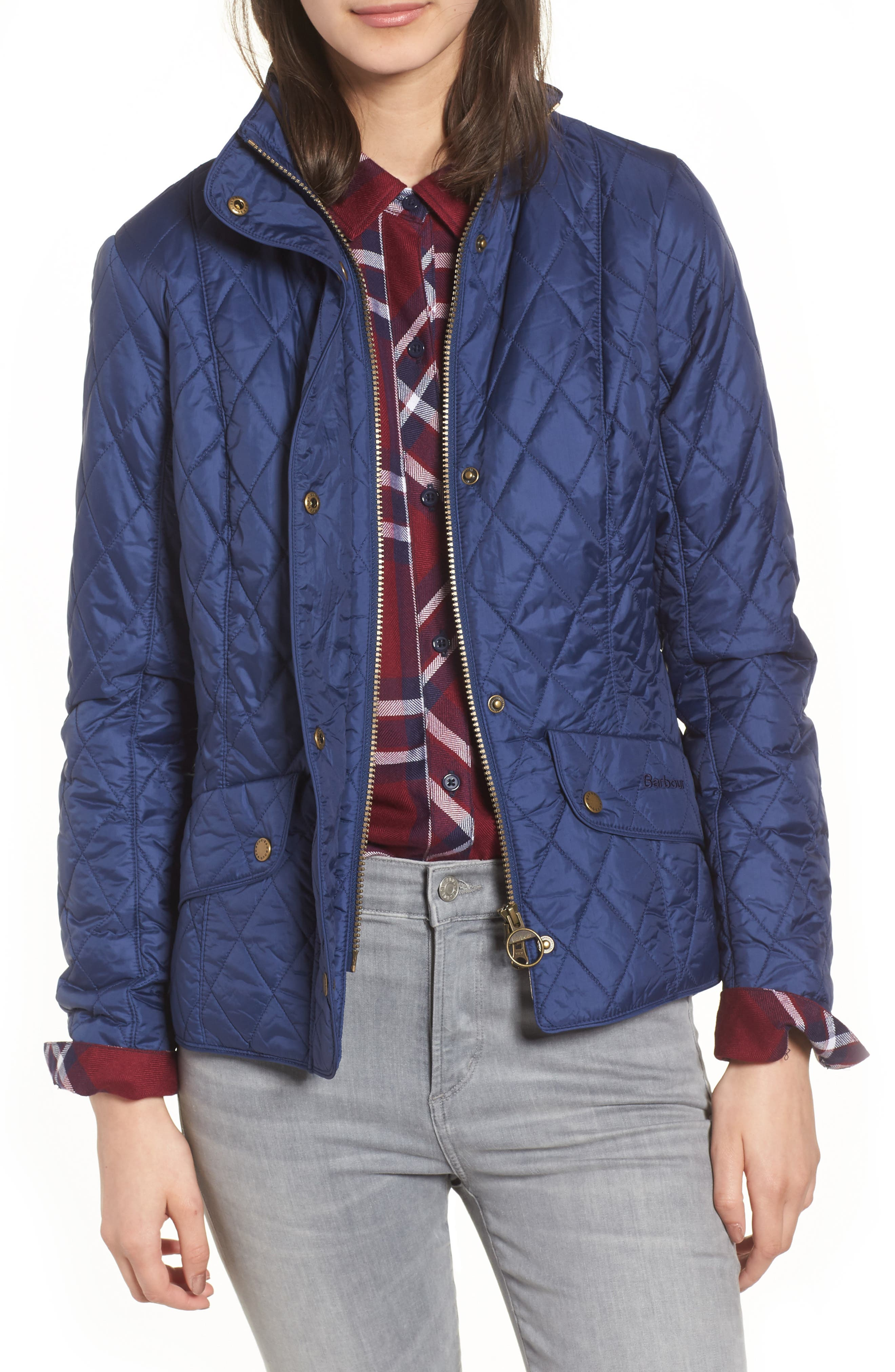 jacket ariel idle quilted quilt poler black at mens the man international barbour