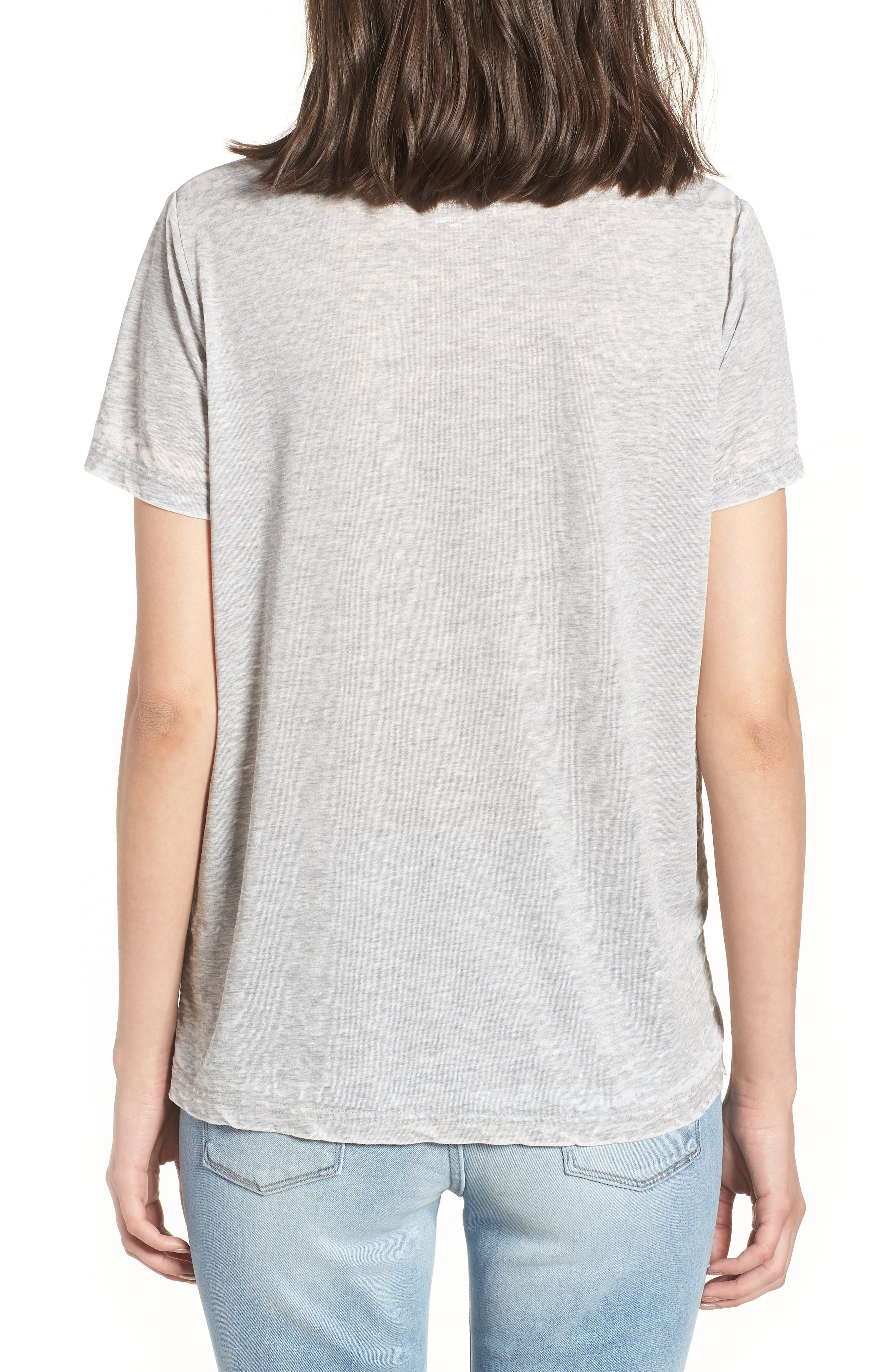 Graphic Tee,                             Alternate thumbnail 2, color,                             Worn Out Grey