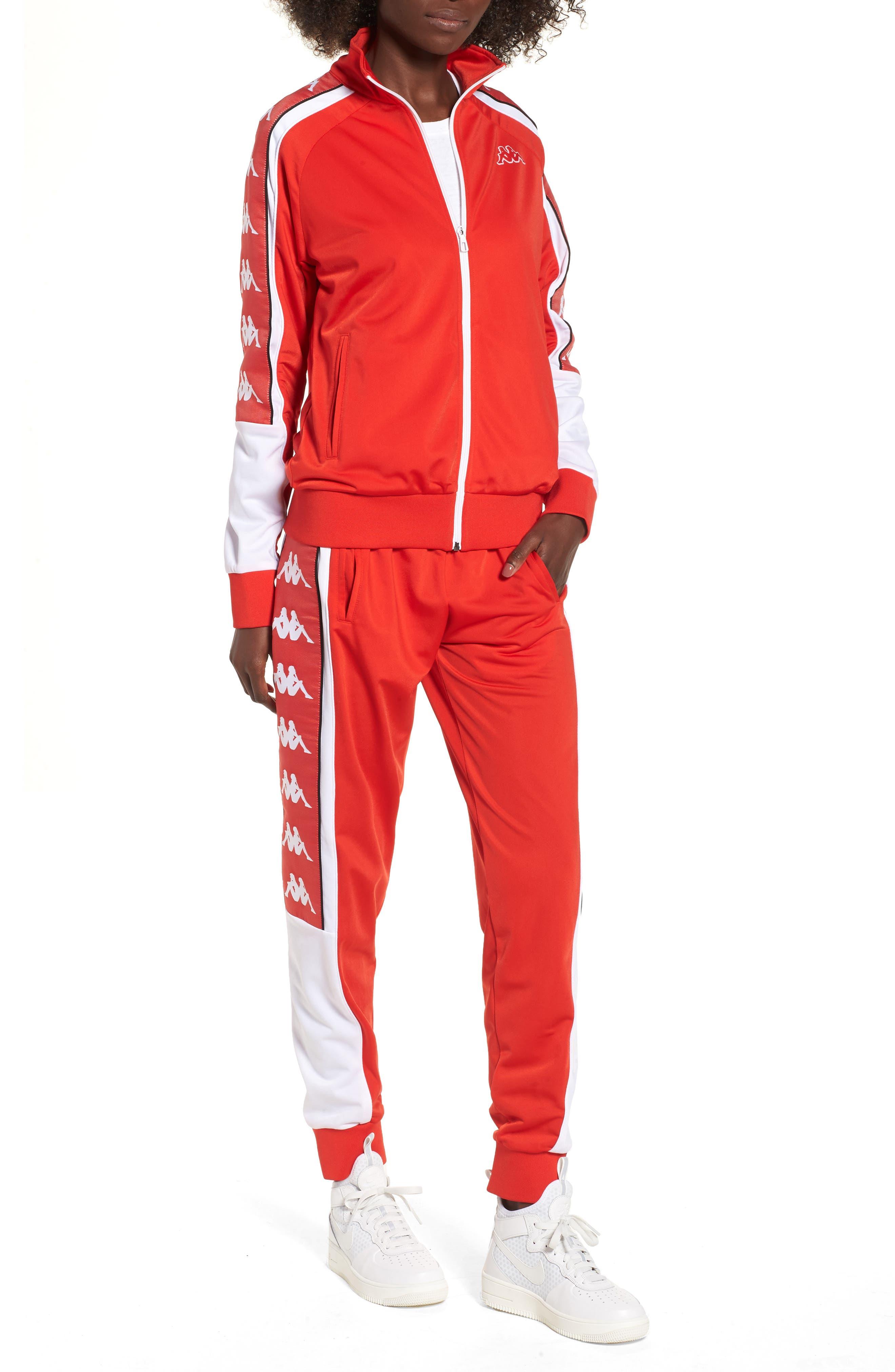 222 Banda 10 Anay Jacket,                             Alternate thumbnail 6, color,                             Red Flame -White