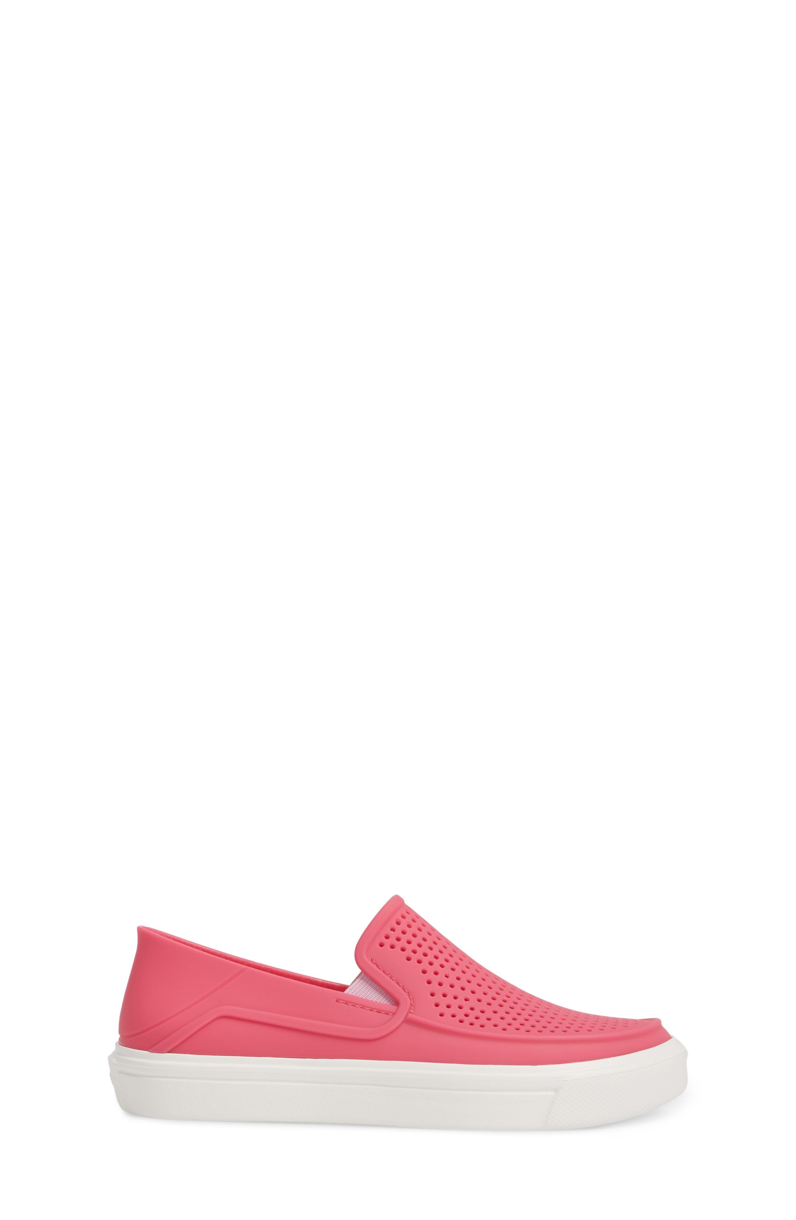 CitiLane Roka Slip-On,                             Alternate thumbnail 3, color,                             Paradise Pink/ White