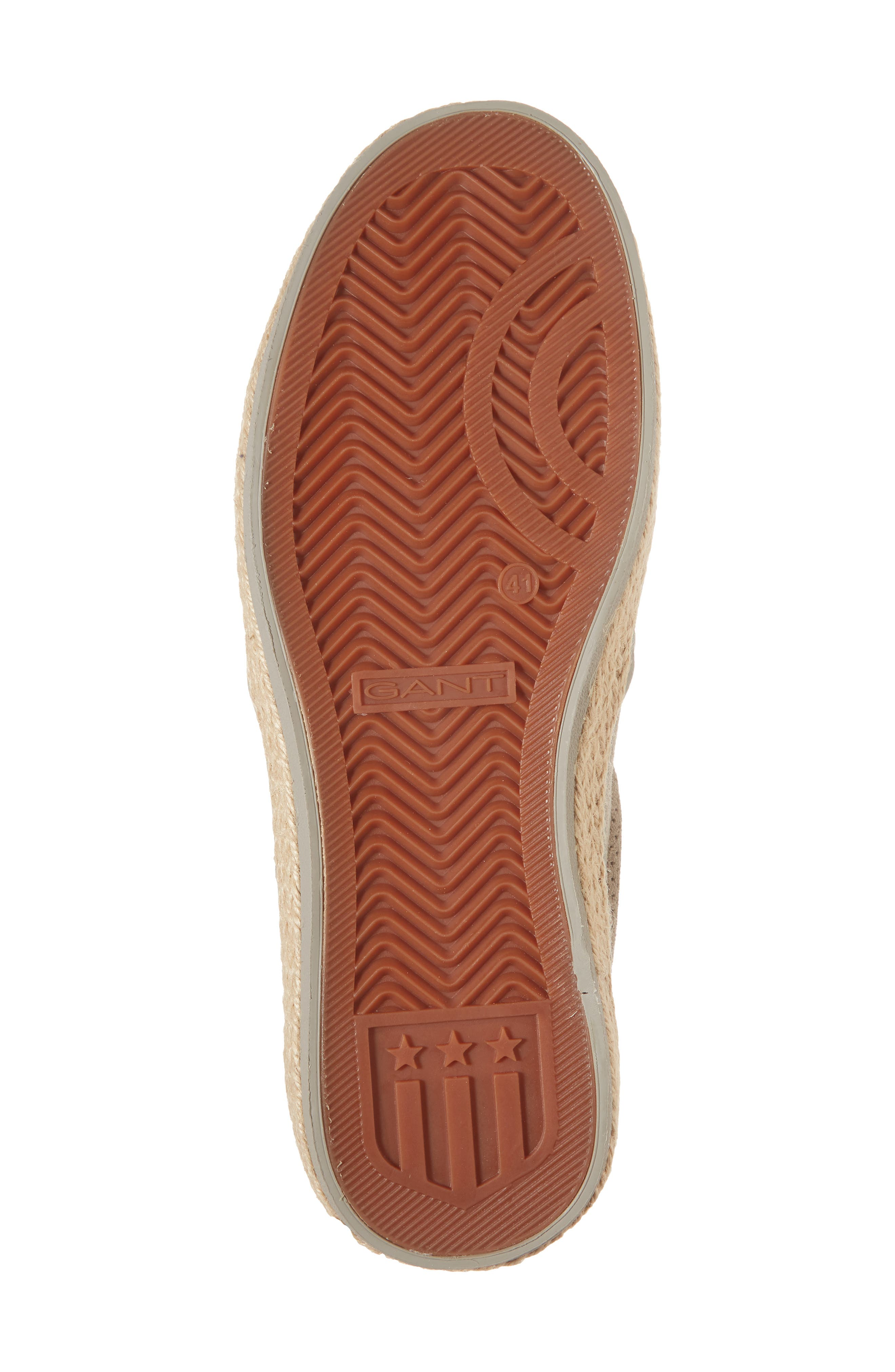 Master Perforated Slip-On Sneaker,                             Alternate thumbnail 6, color,                             Cashew Brown