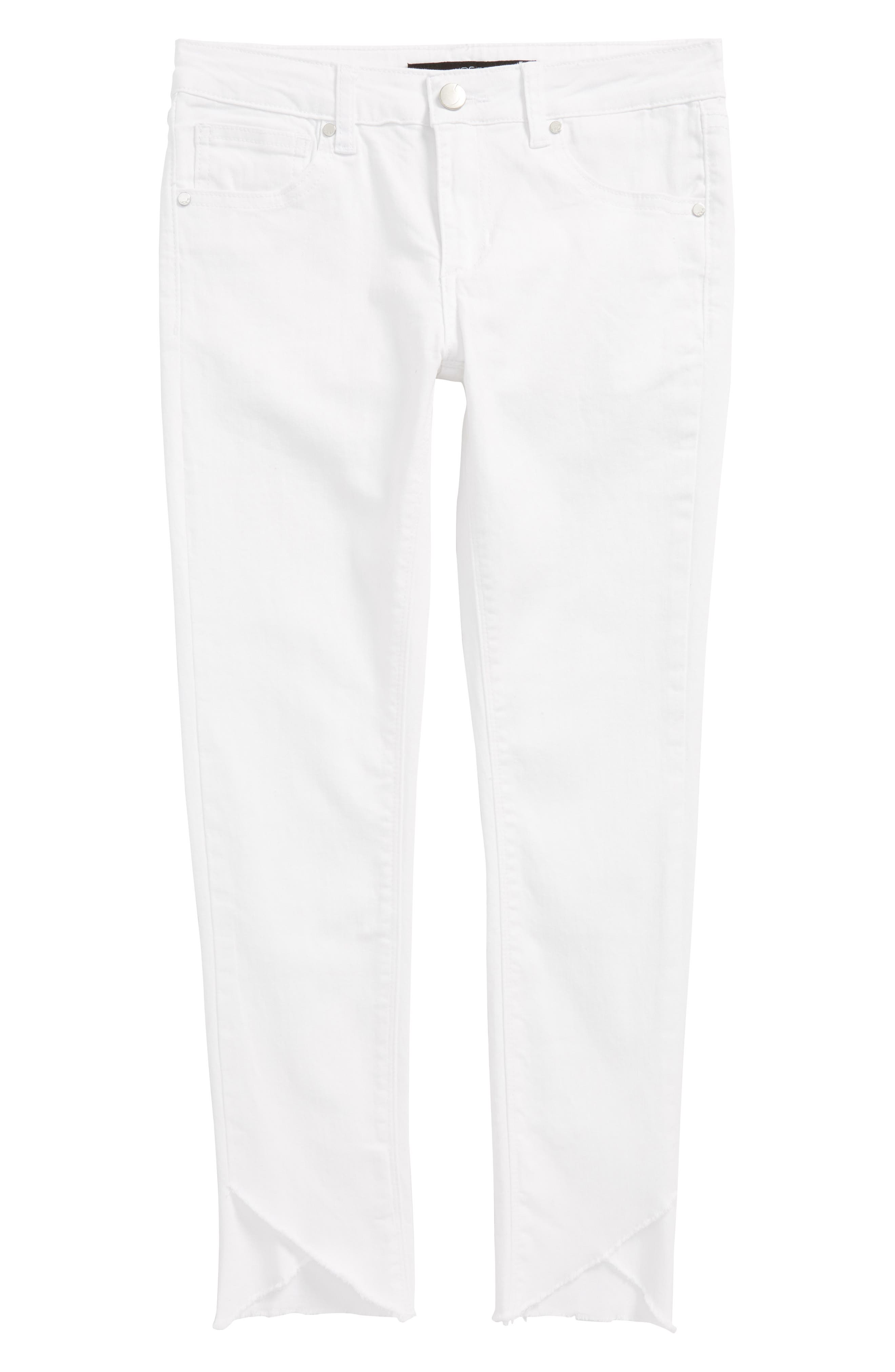 The Markie Ankle Skinny Jeans,                             Main thumbnail 1, color,                             Bright White
