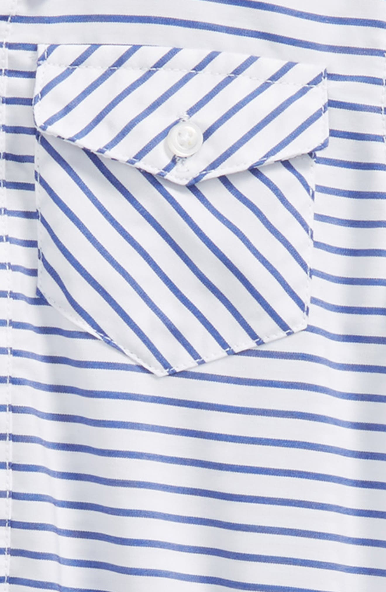 Shirtzie, Bow Tie & Shorts Set,                             Alternate thumbnail 2, color,                             Blue