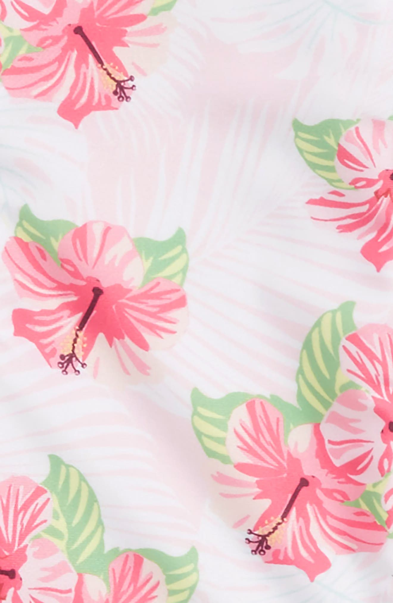 Honolulu Two-Piece Swimsuit with Rashguard,                             Alternate thumbnail 2, color,                             Pink Multi