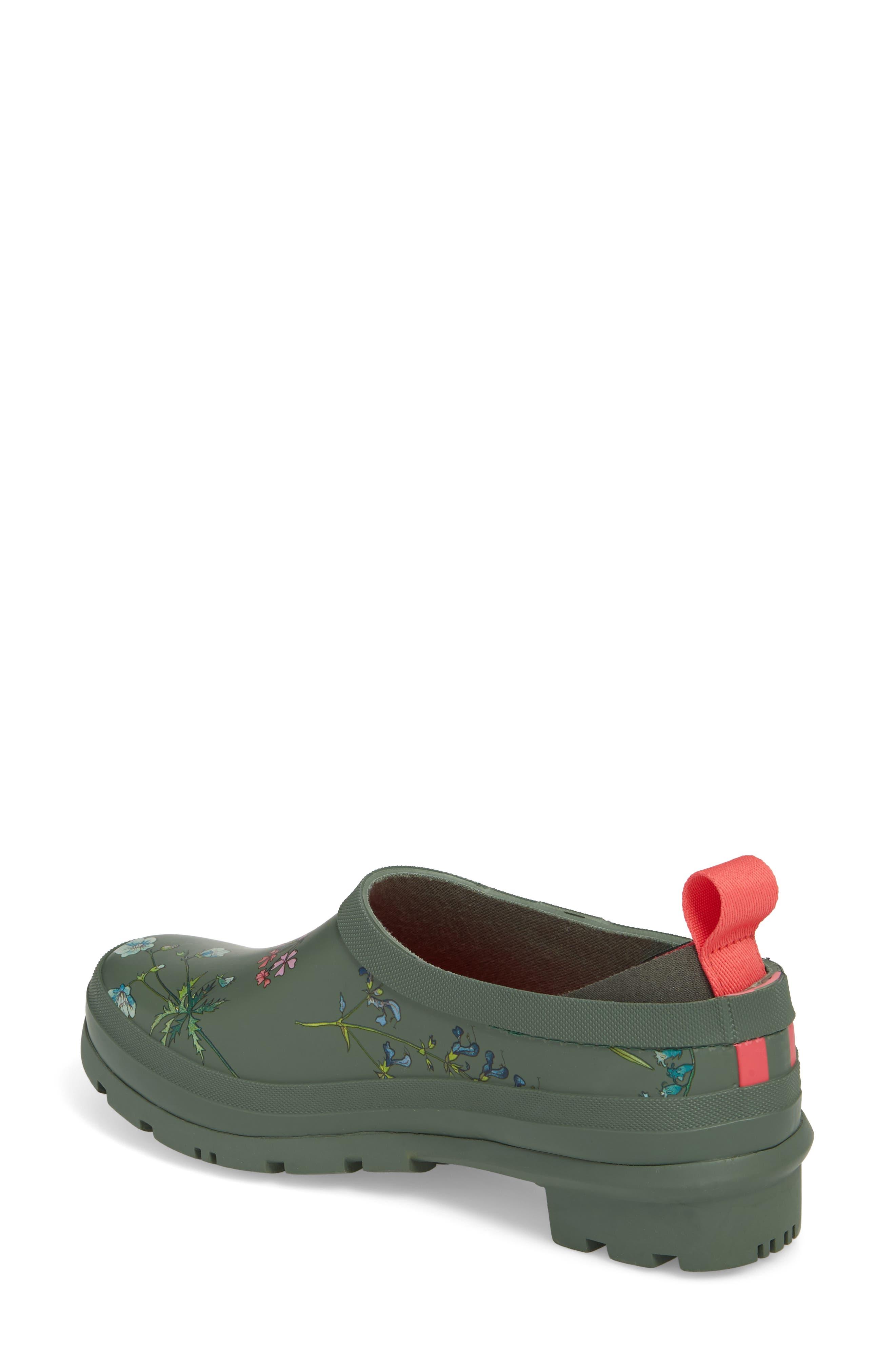 Rain Boot Clog,                             Alternate thumbnail 2, color,                             Laurel Botanical
