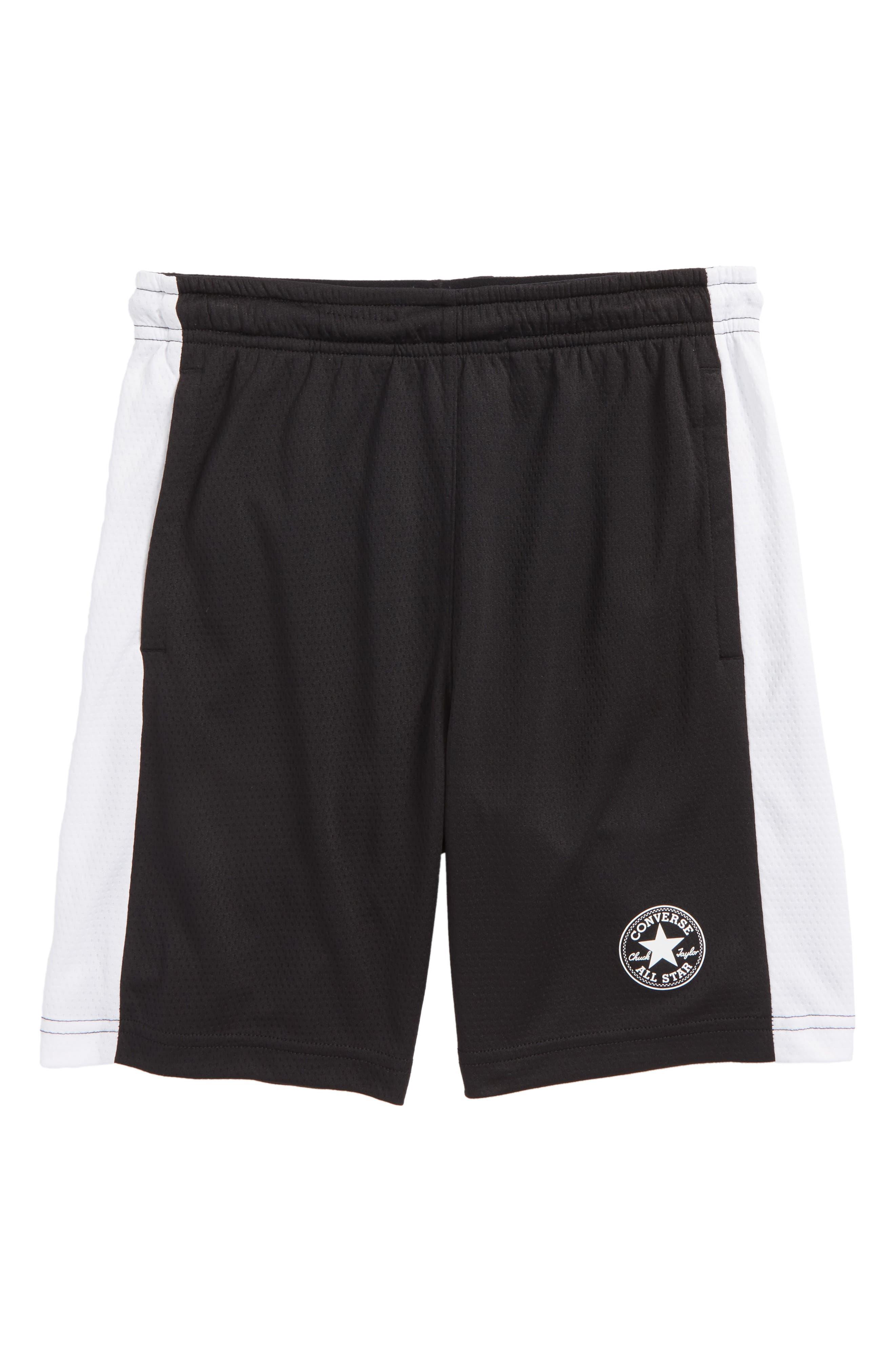 Mesh Shorts,                         Main,                         color, Black
