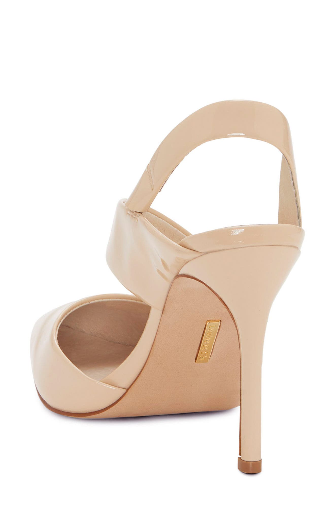 Jerry Pointy Toe Slingback Pump,                             Alternate thumbnail 2, color,                             Odessa Patent
