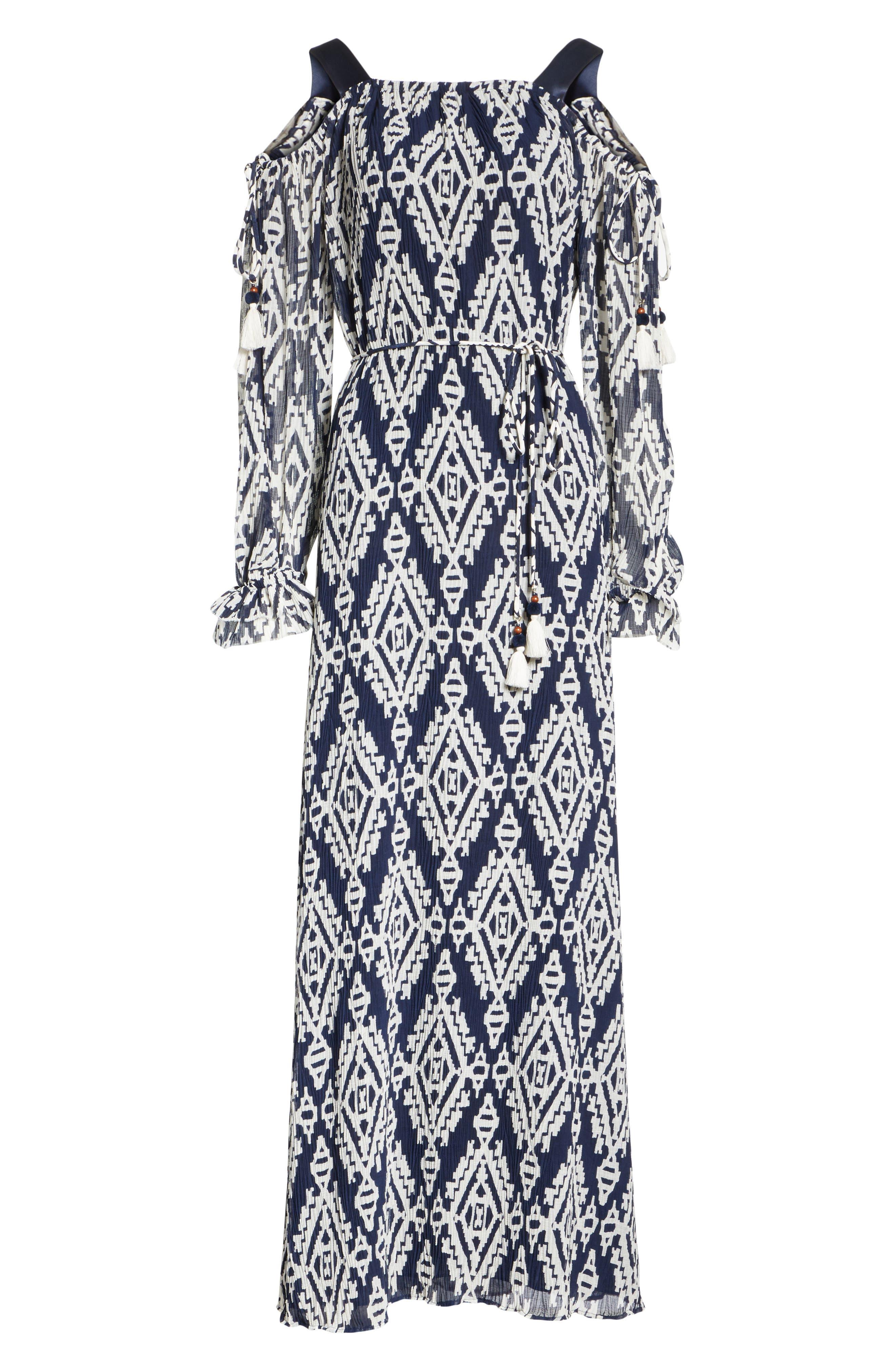 Katherine Maxi Dress,                             Alternate thumbnail 6, color,                             Tapestry Geo