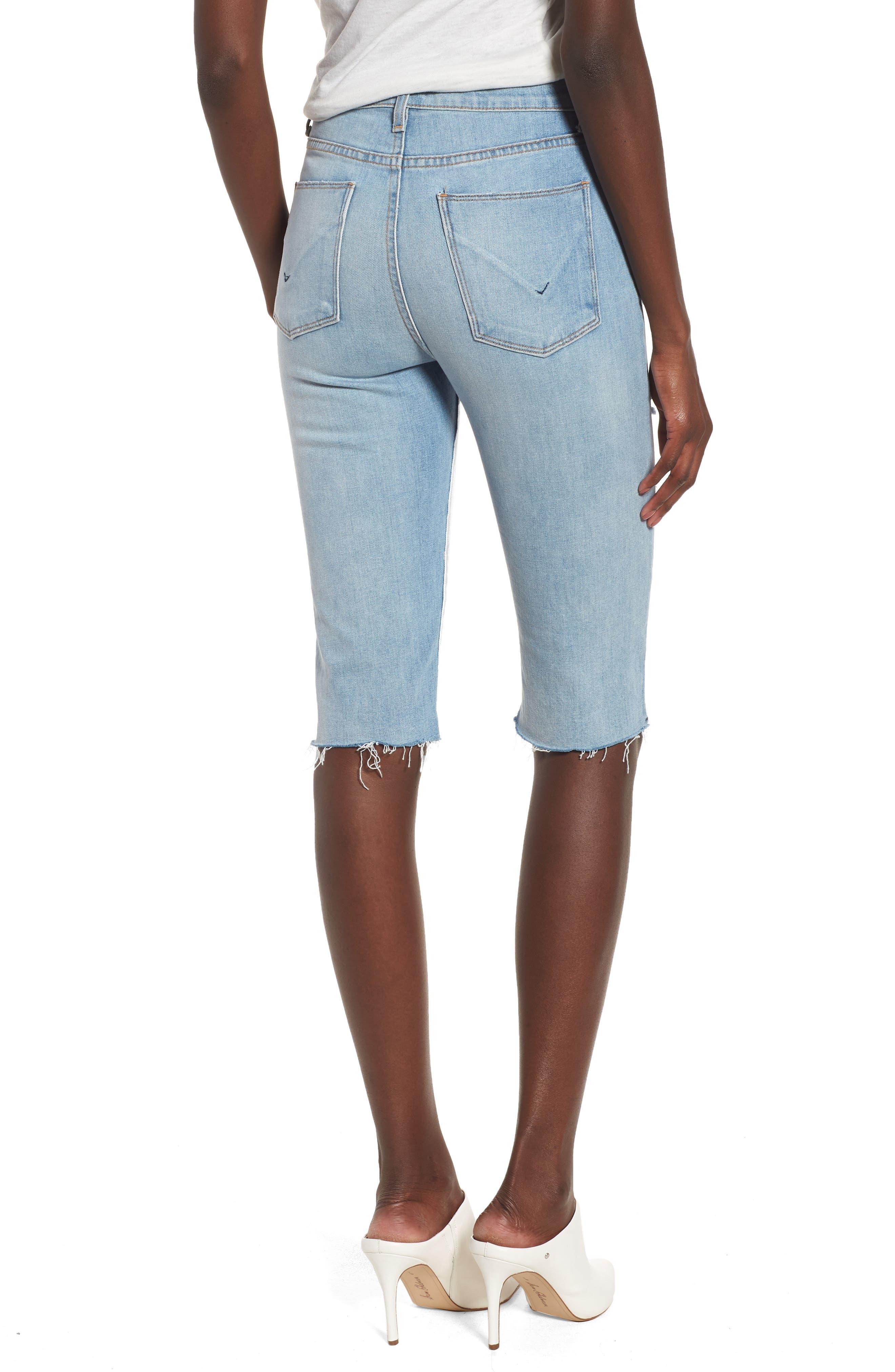 Alternate Image 2  - Hudson Jeans Zoeey High Waist Cutoff Boyfriend Shorts (Love St.)