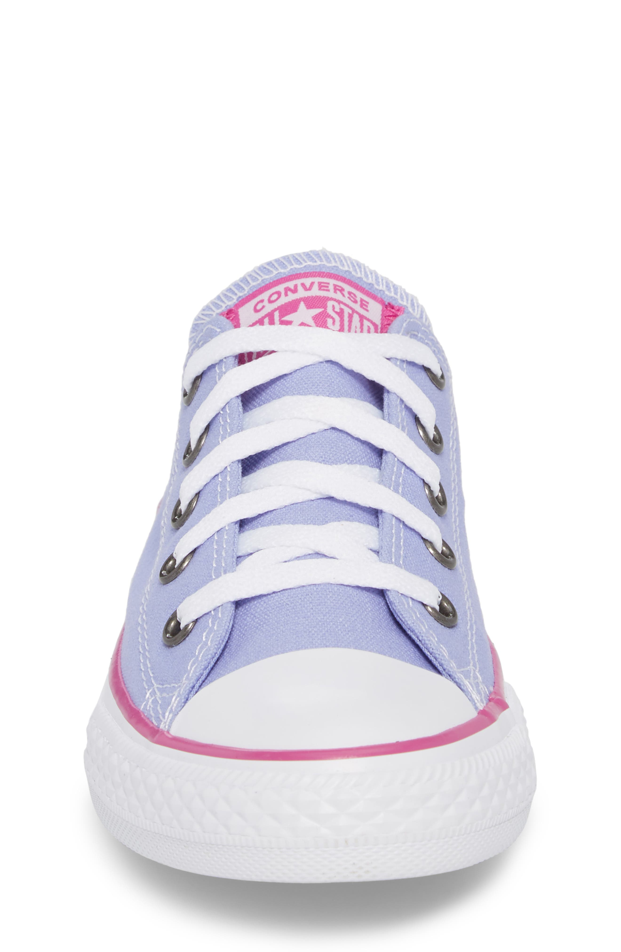 All Star<sup>®</sup> Low Top Sneaker,                             Alternate thumbnail 4, color,                             Twilight Purple