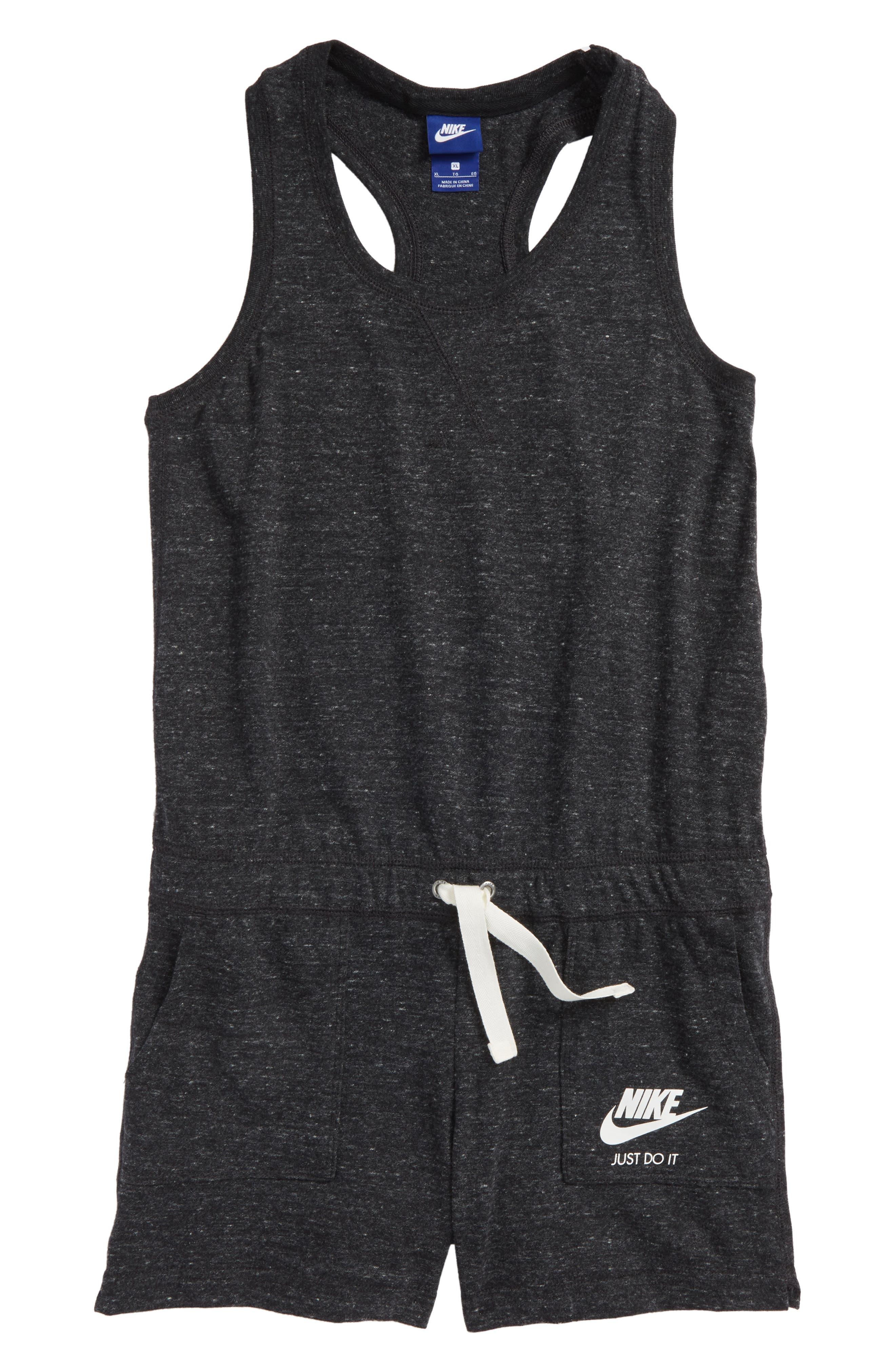 Racerback Knit Romper by Nike