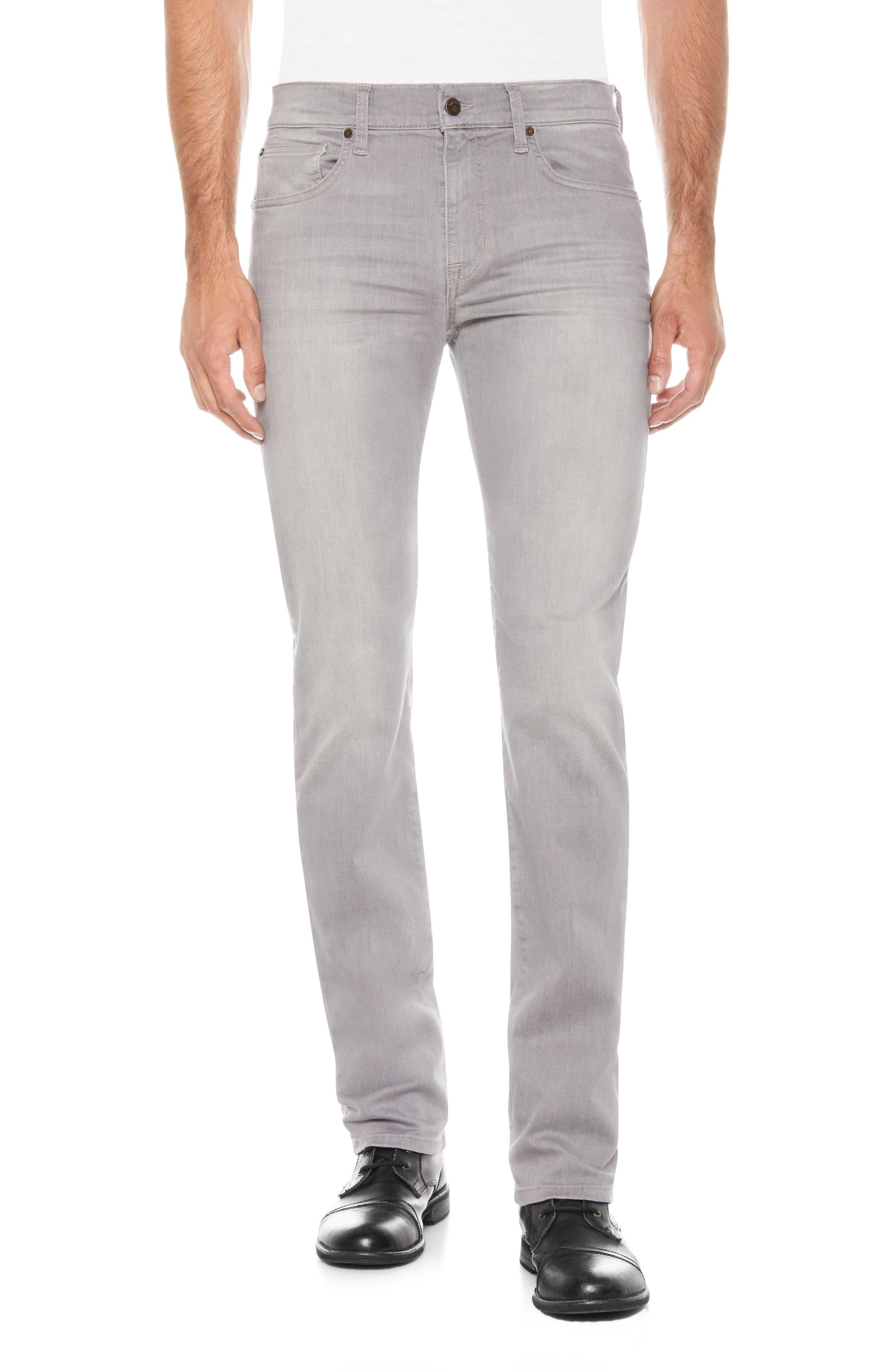 Brixton Slim Straight Fit Jeans,                             Main thumbnail 1, color,                             Steve