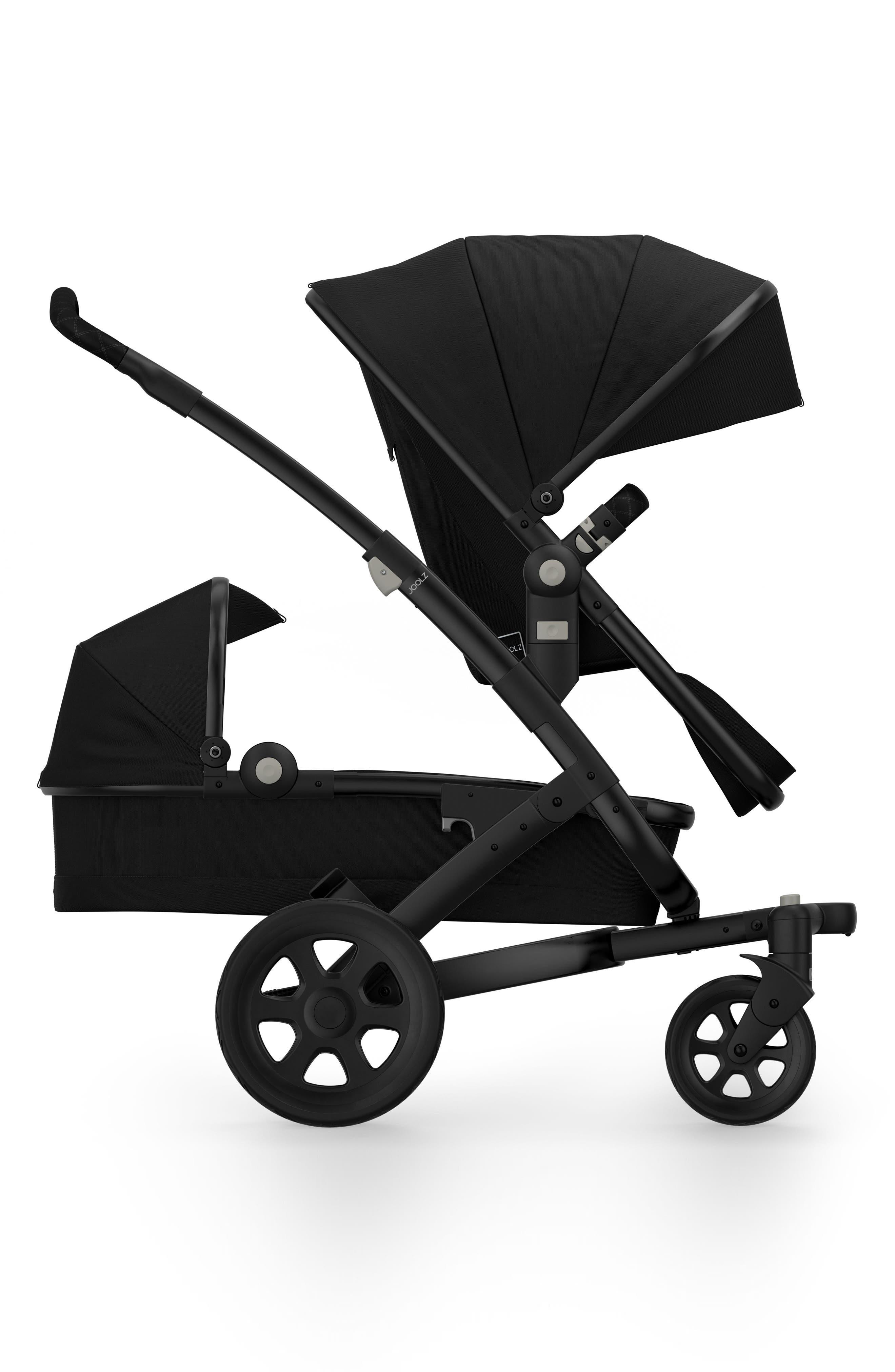Geo2 Earth Stroller Lower Bassinet/Seat Attachment,                             Alternate thumbnail 2, color,                             Noir