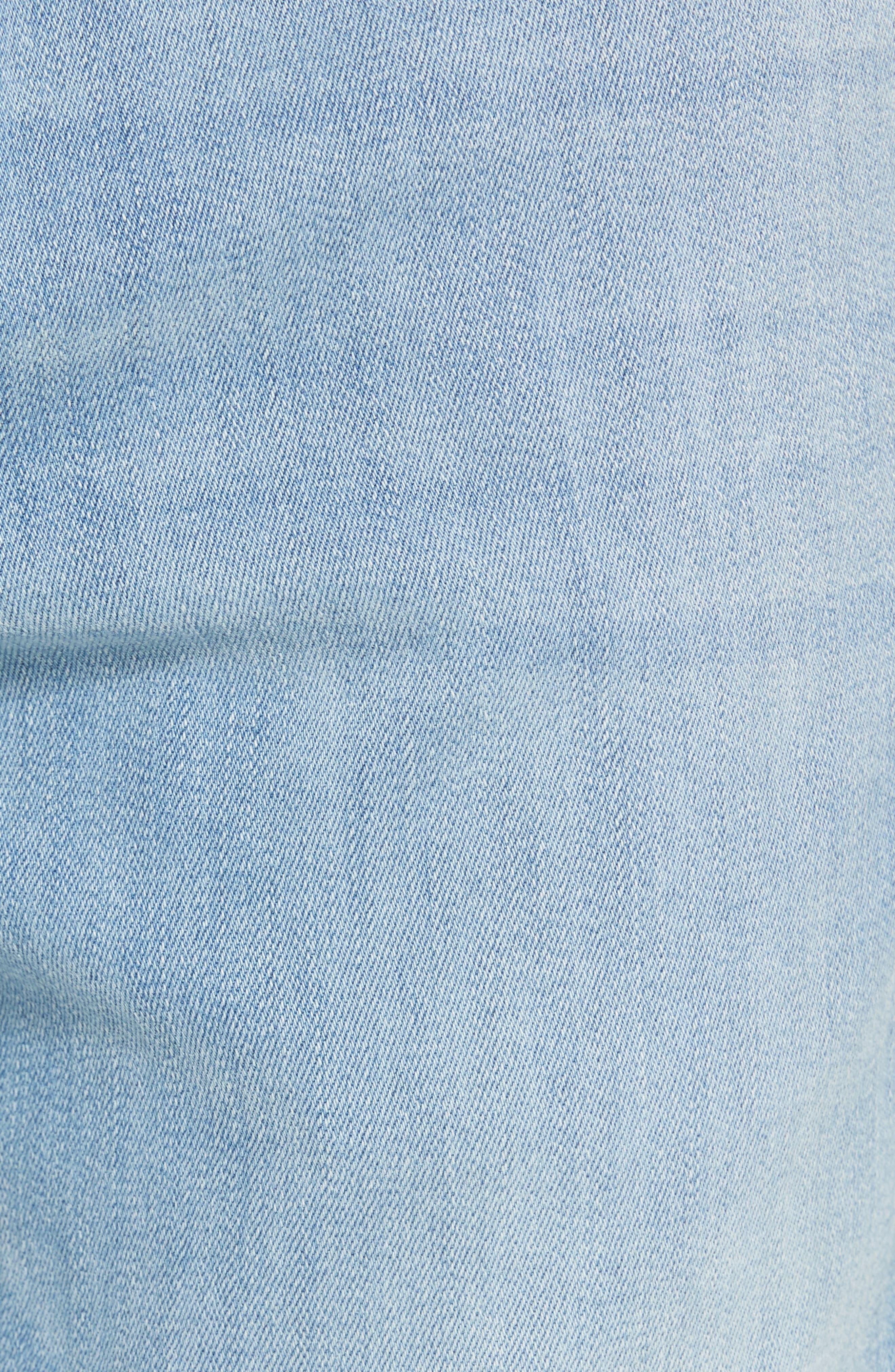 Torino Slim Fit Jeans,                             Alternate thumbnail 5, color,                             Abbey Blue
