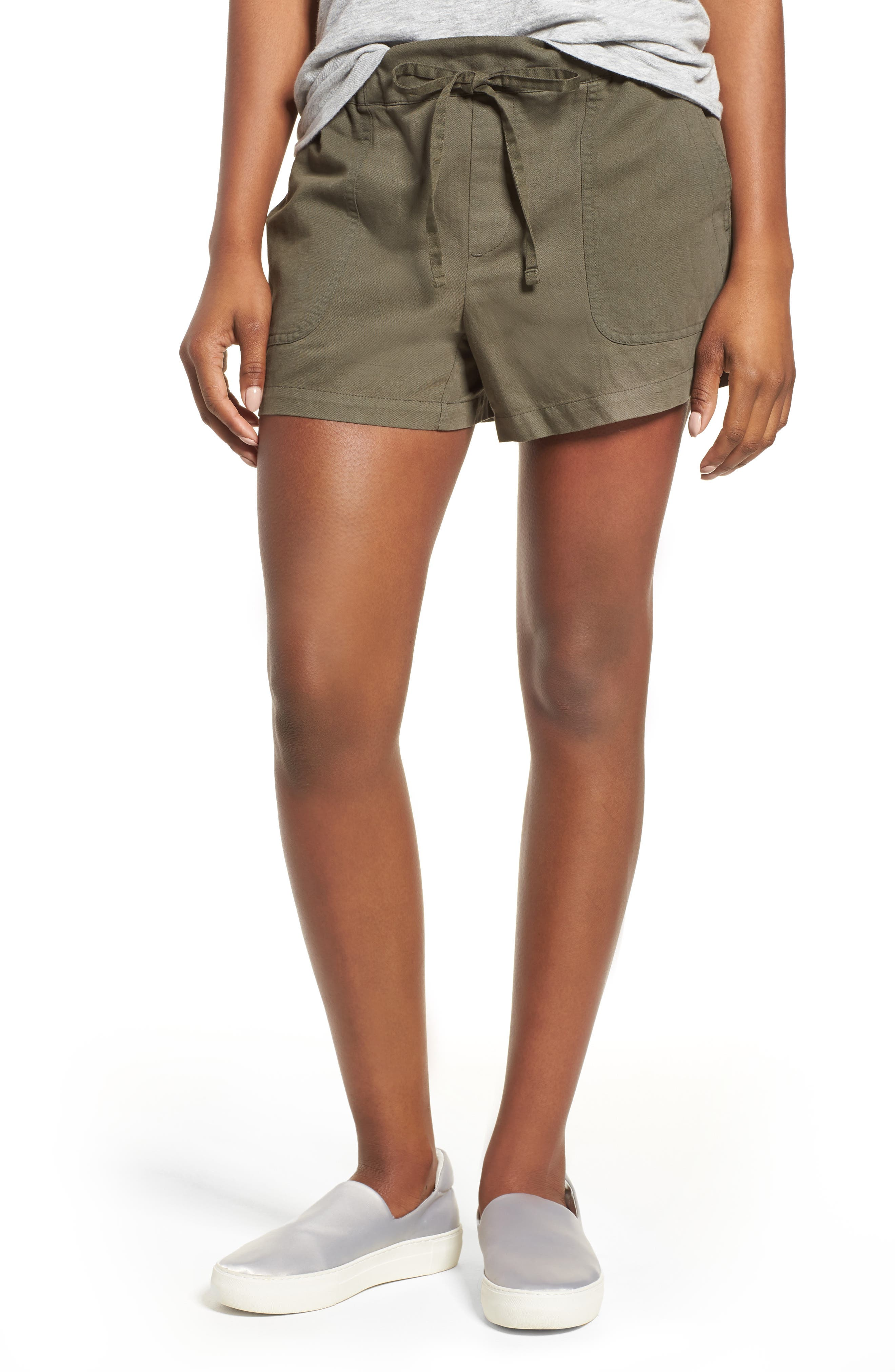 Alternate Image 1 Selected - Kenneth Cole New York Drawstring Cotton Shorts