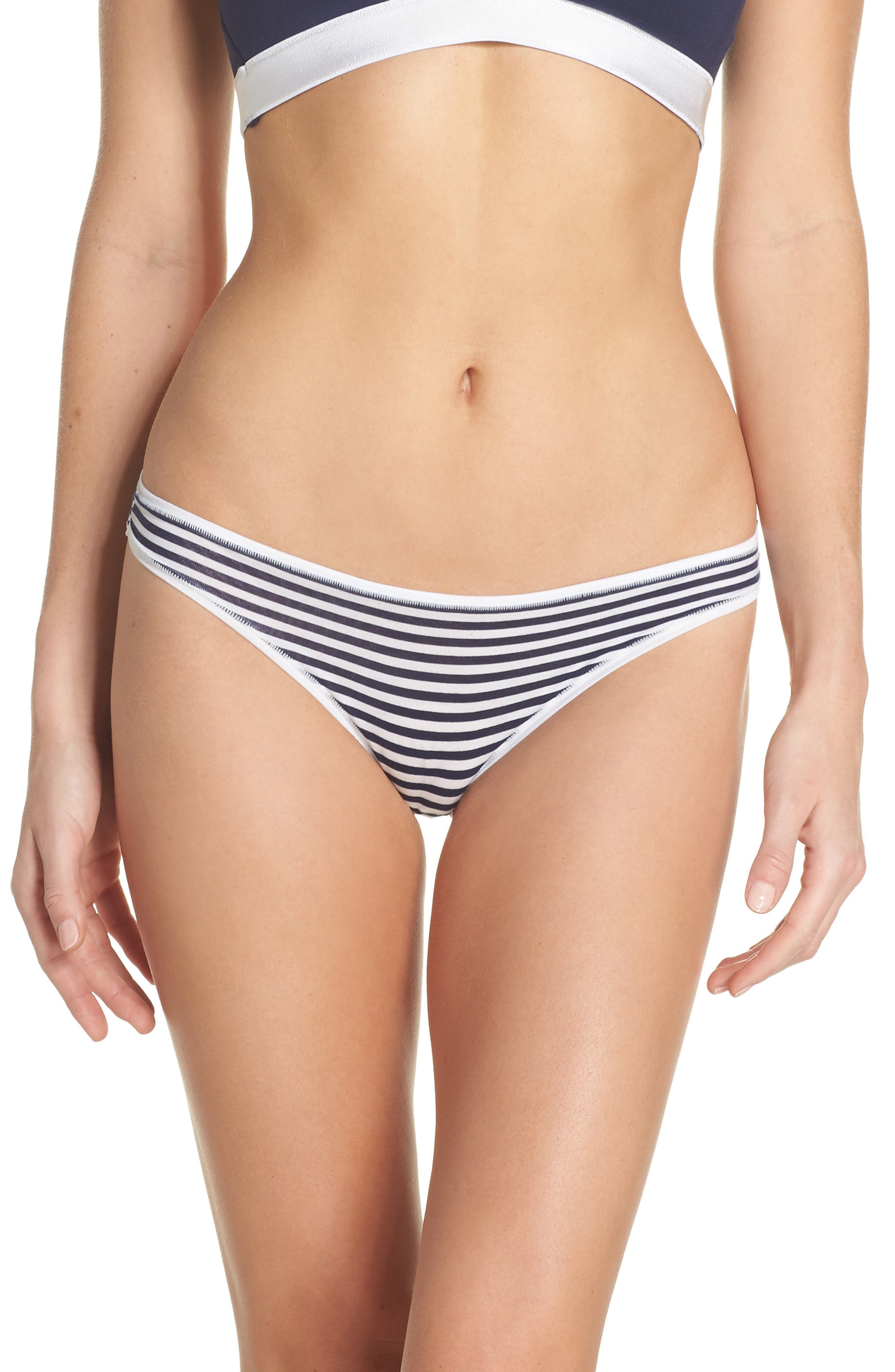 Alternate Image 1 Selected - Halogen® Micromodal Thong (3 for $33)