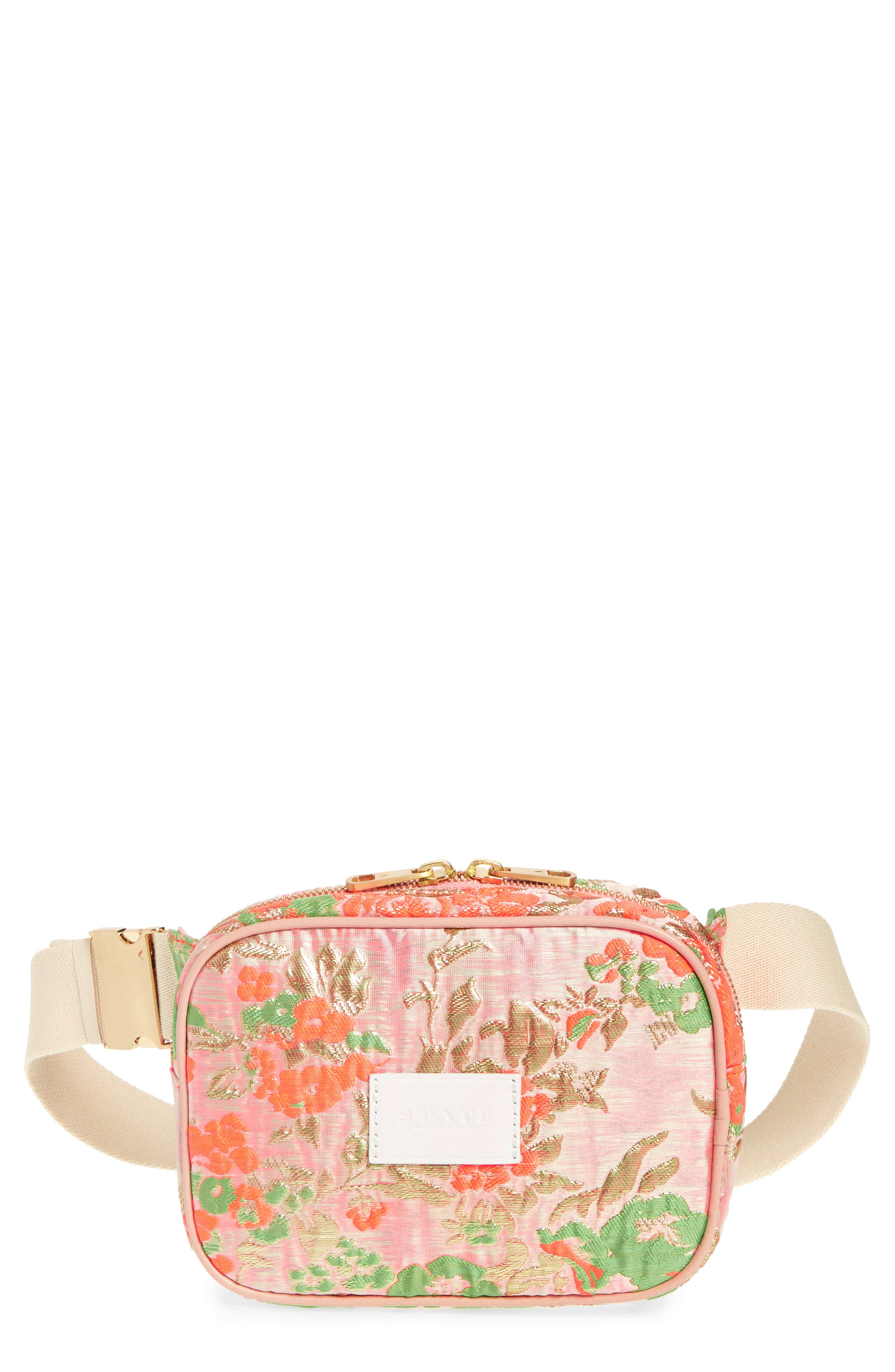 STATE Bags Crosby Brocade Belt Bag