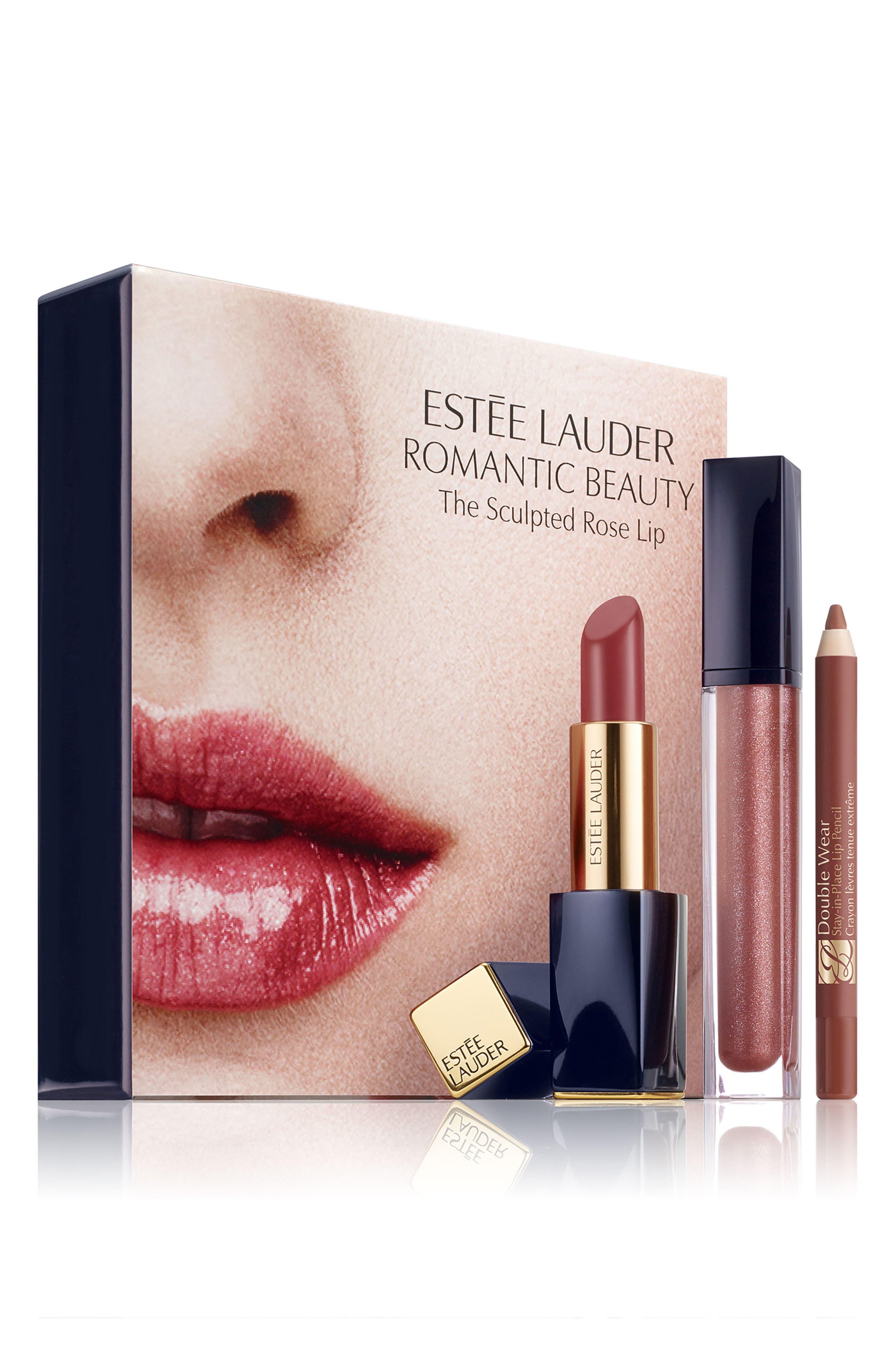 Estée Lauder Rose Lip Set ($74 Value)