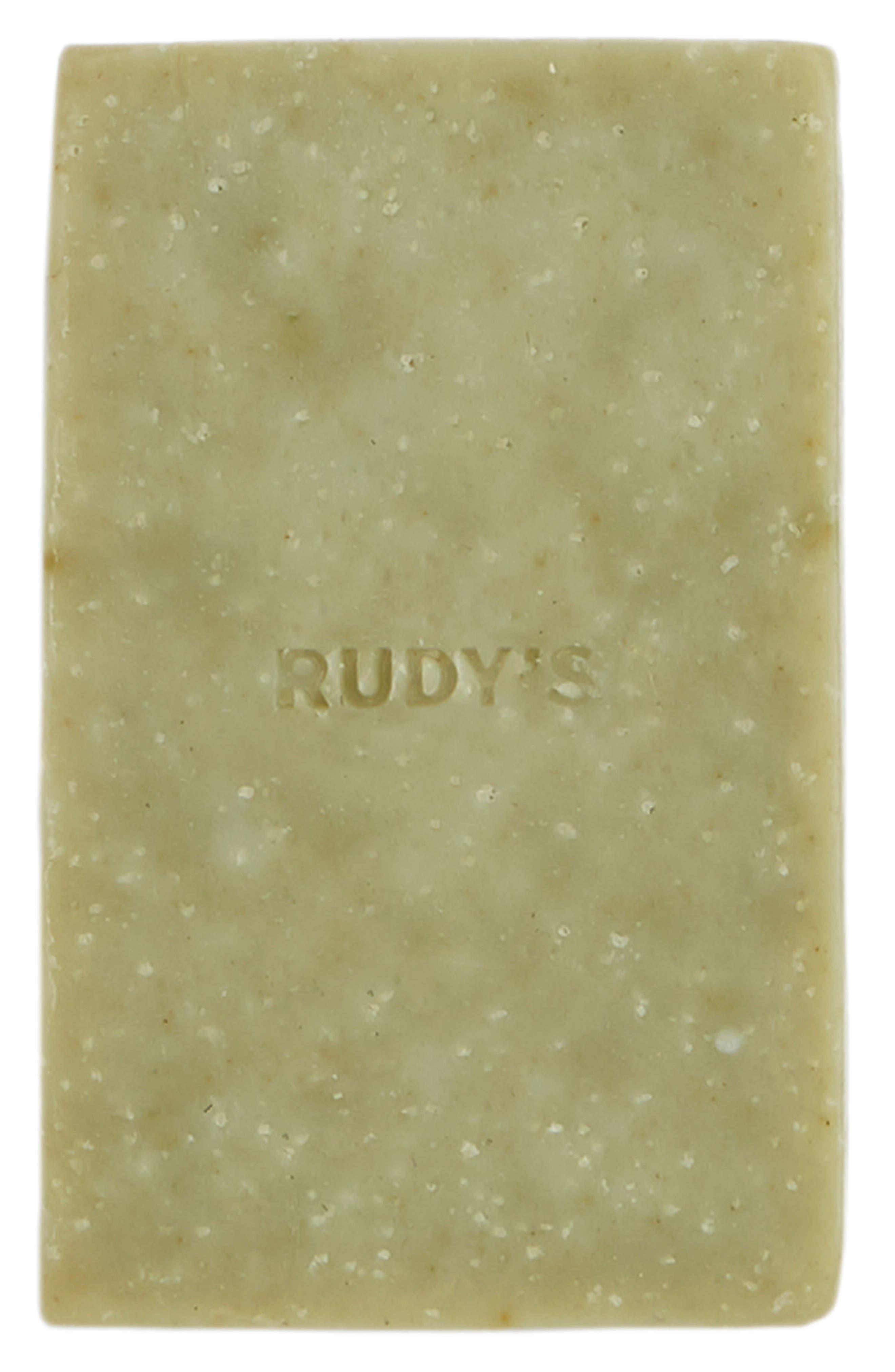 Rudy's Barbershop Exfoliating Body Bar