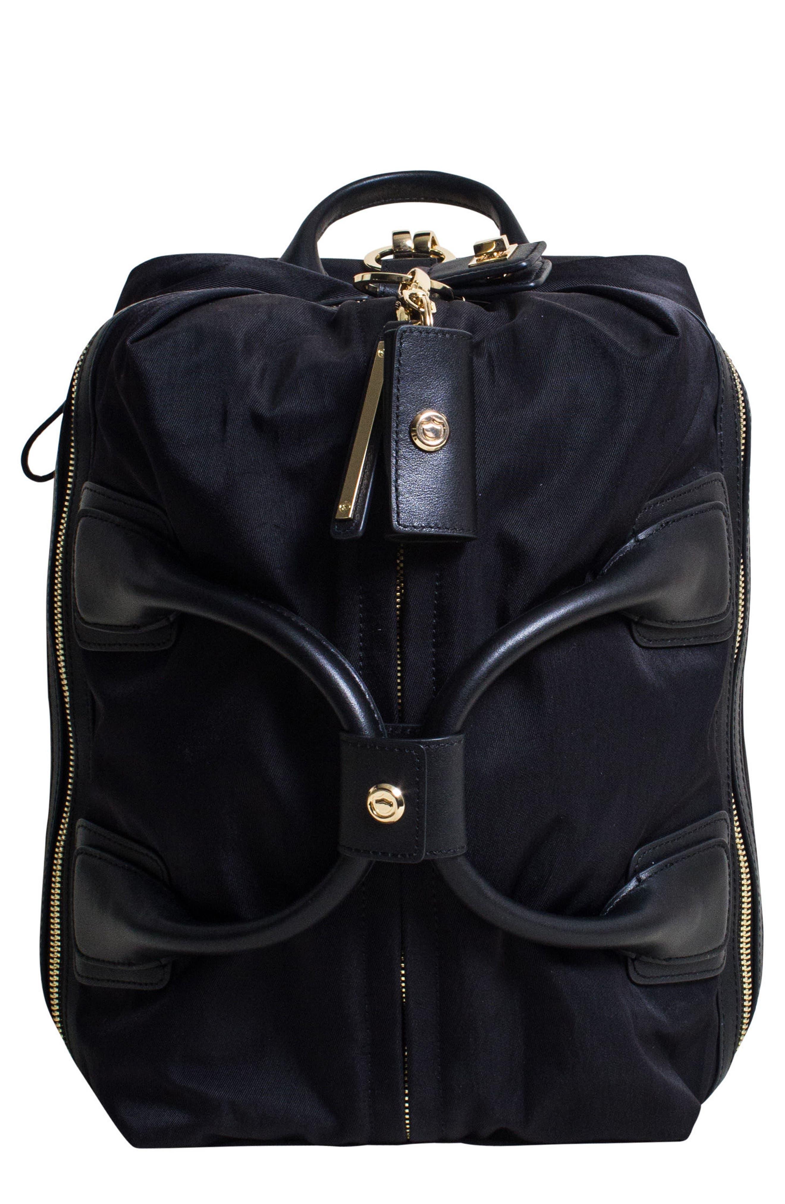 Studio Duffel Backpack,                         Main,                         color, Black