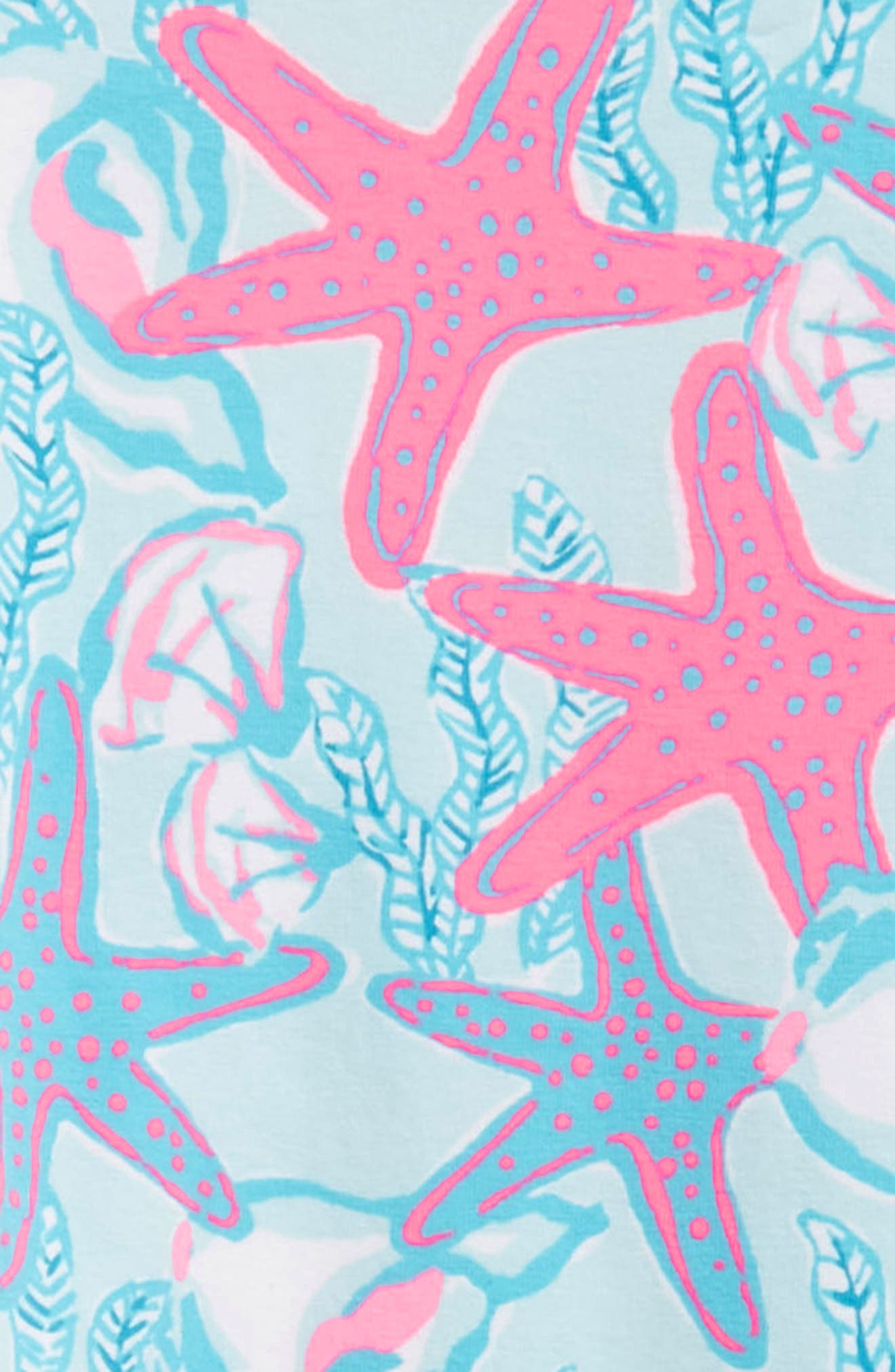 Print Leggings,                             Alternate thumbnail 2, color,                             Beachcomber Blue