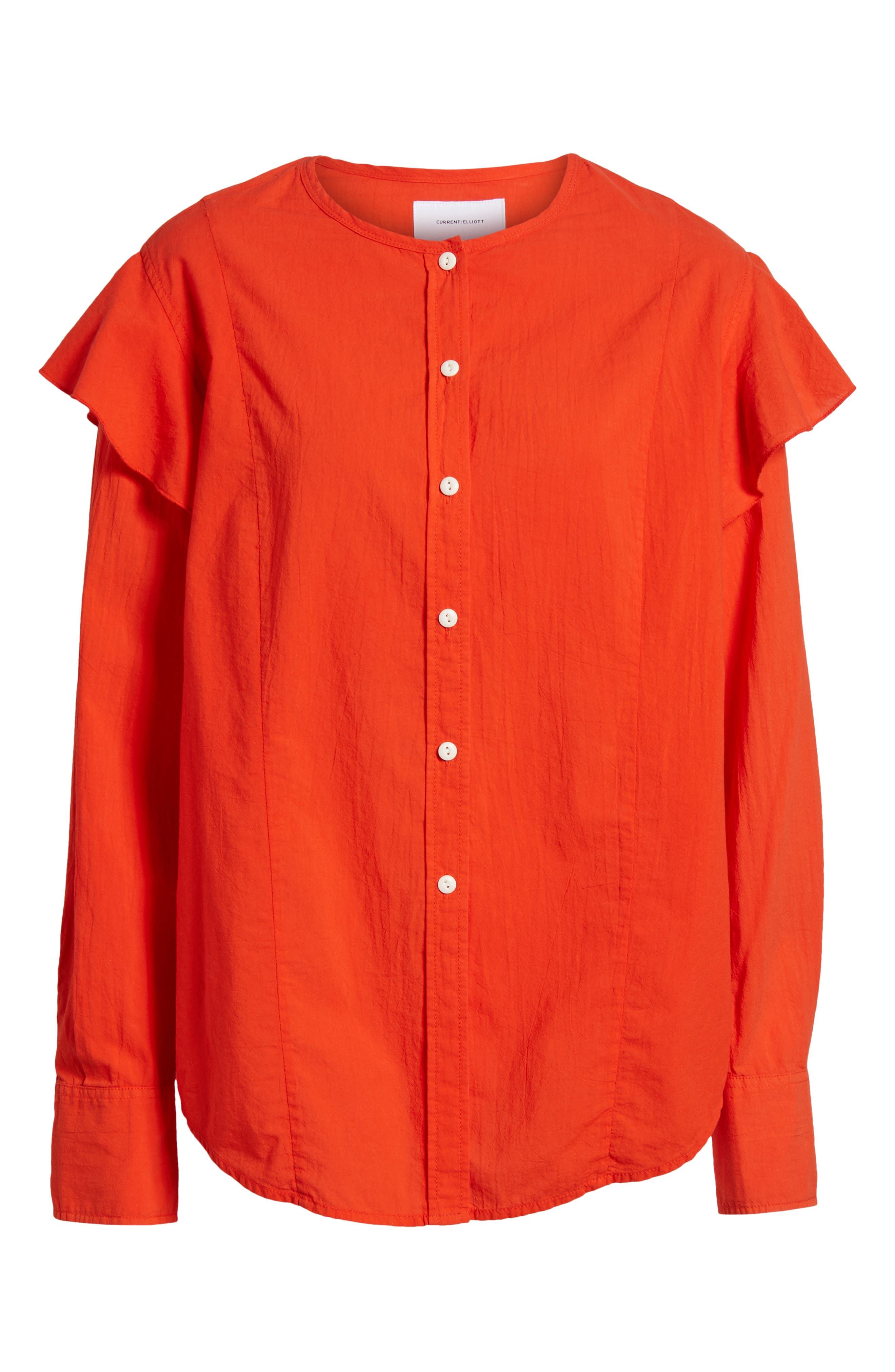The Asley Shirt,                             Alternate thumbnail 7, color,                             Poinciana