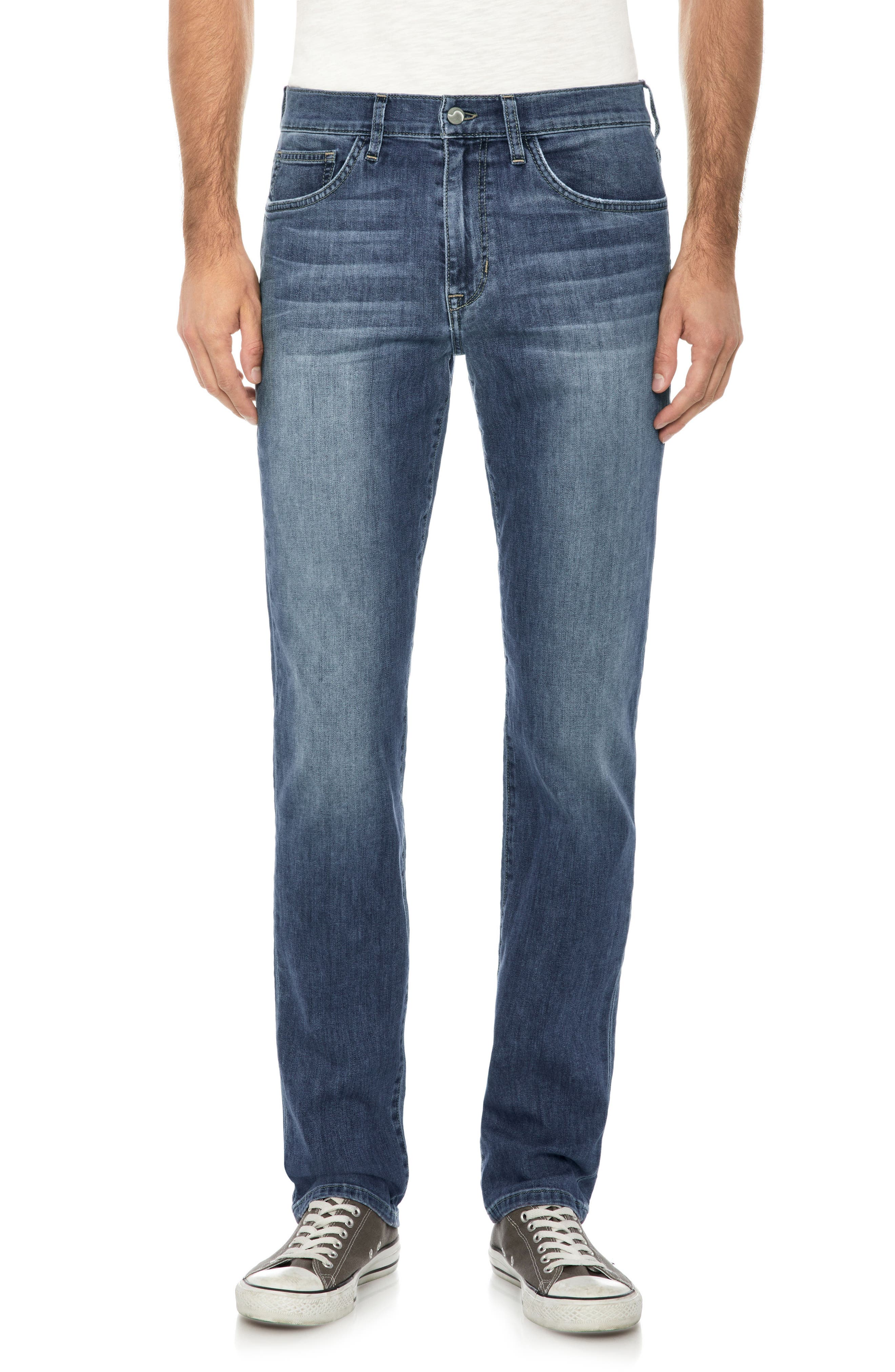 Classic Straight Leg Jeans,                         Main,                         color, Montell