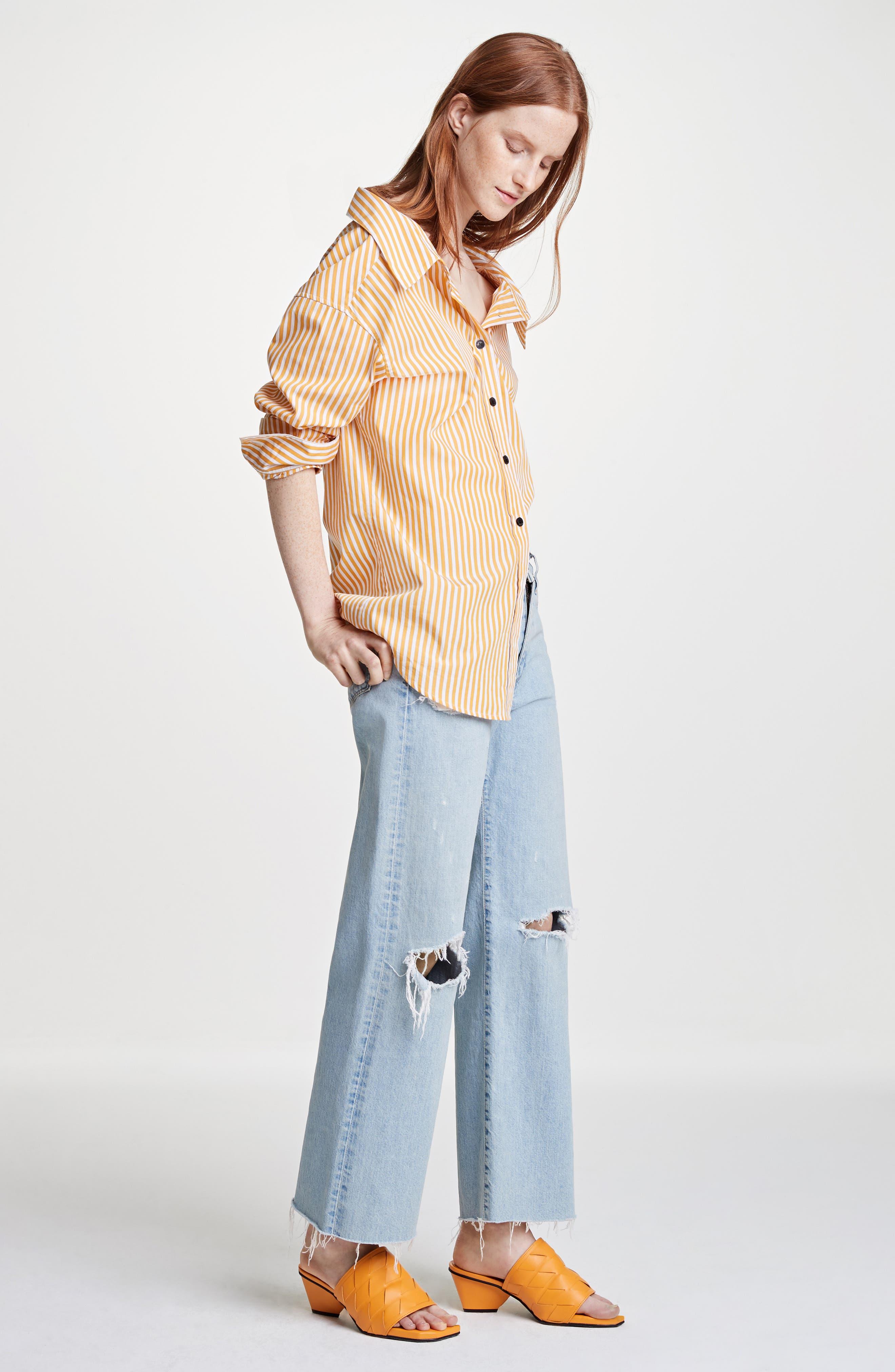 Tibbee Ripped Jeans,                             Alternate thumbnail 2, color,                             Light Indigo
