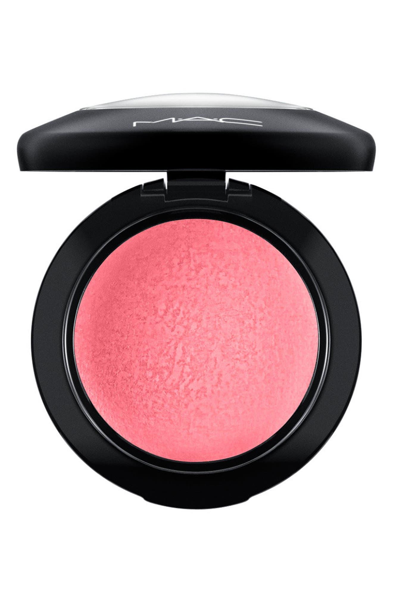 MAC Mineralize Blush,                             Main thumbnail 1, color,                             Happy-Go-Rosy