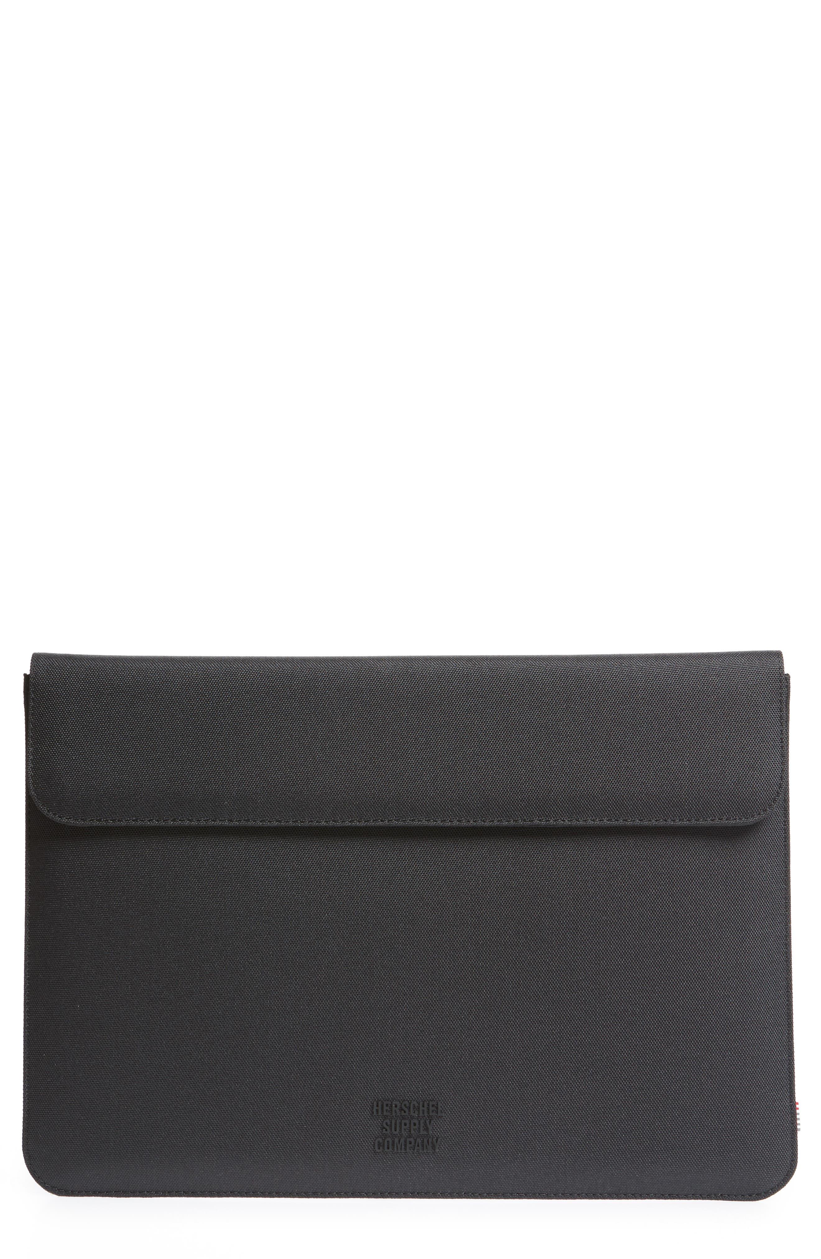 Spokane 13-Inch MacBook Canvas Sleeve,                         Main,                         color, Black