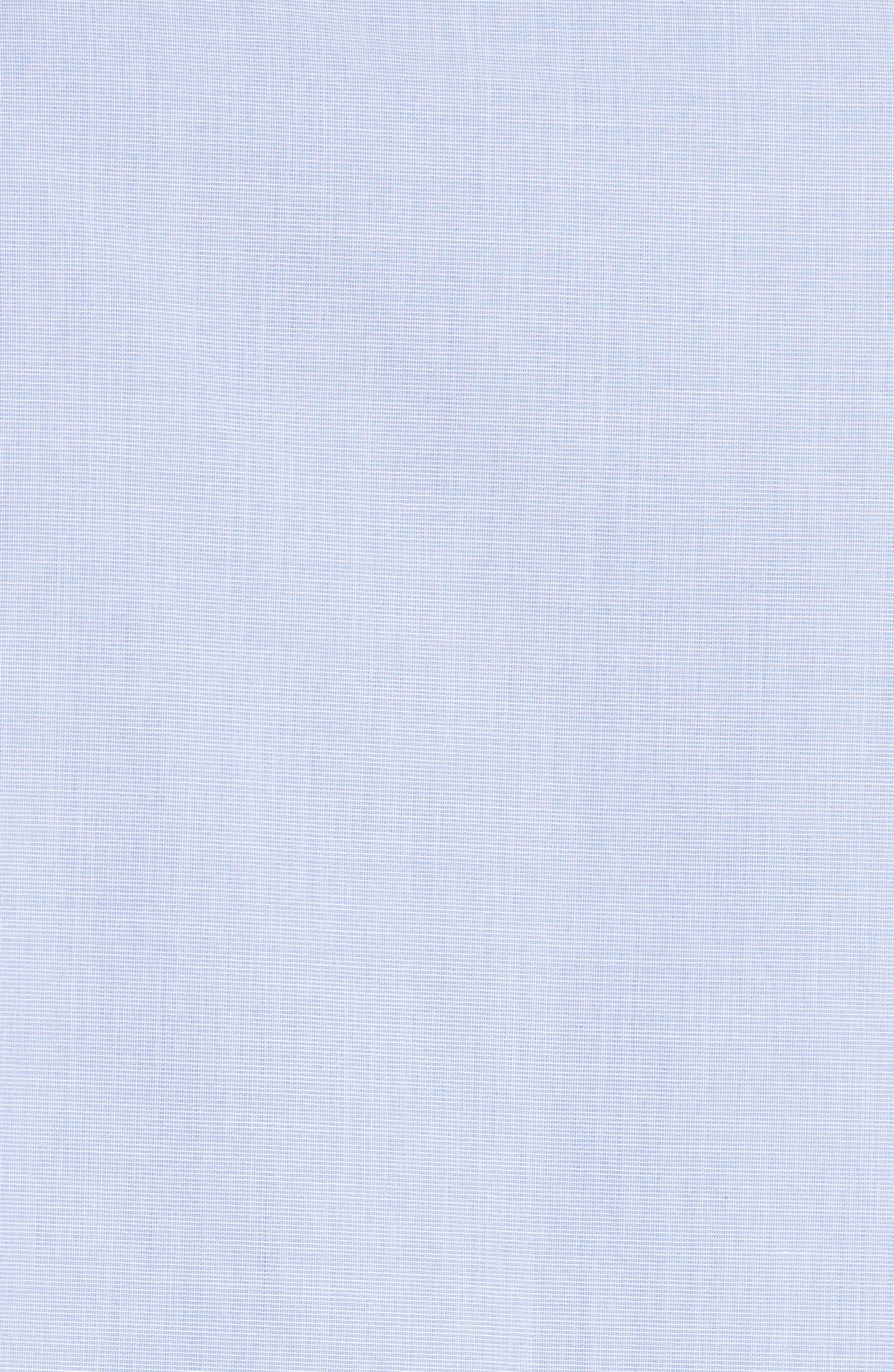 daisy embroidered cotton top,                             Alternate thumbnail 5, color,                             Ensemble Blue