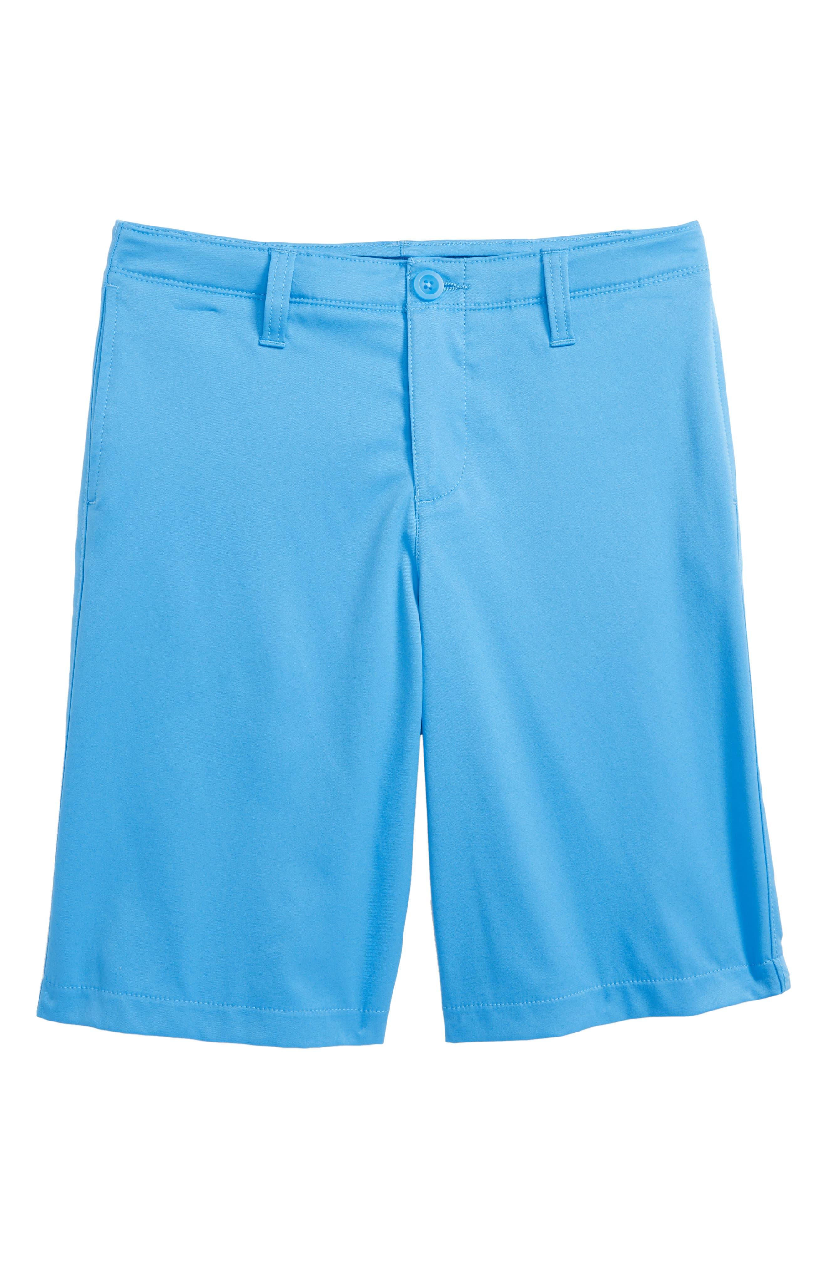 Match Play Shorts,                             Main thumbnail 1, color,                             Canoe Blue/ Moroccan Blue