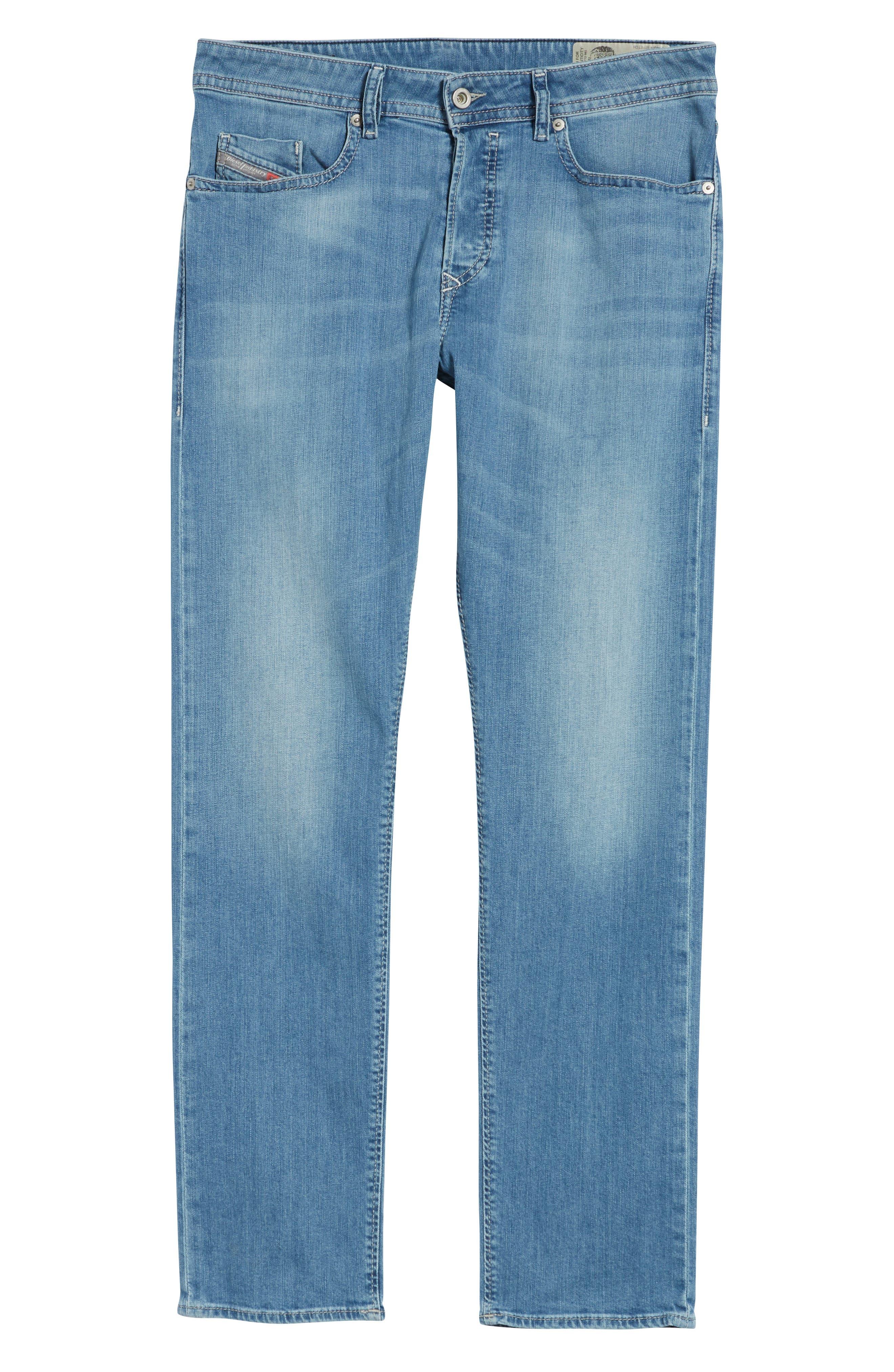 Buster Slim Straight Leg Jeans,                             Alternate thumbnail 6, color,                             Denim