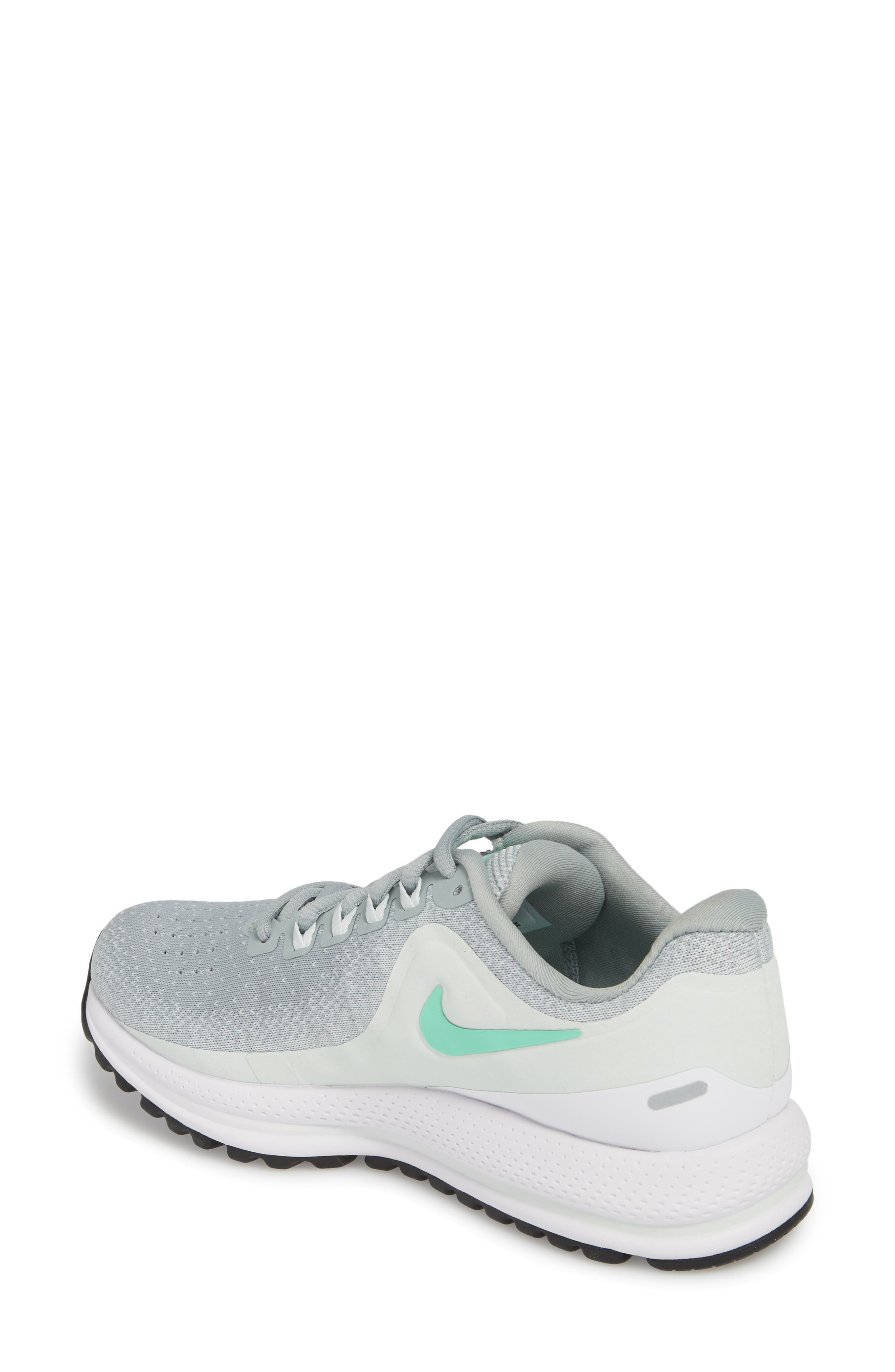 Air Zoom Vomero 13 Running Shoe,                             Alternate thumbnail 2, color,                             Light Pumice/ Green Glow