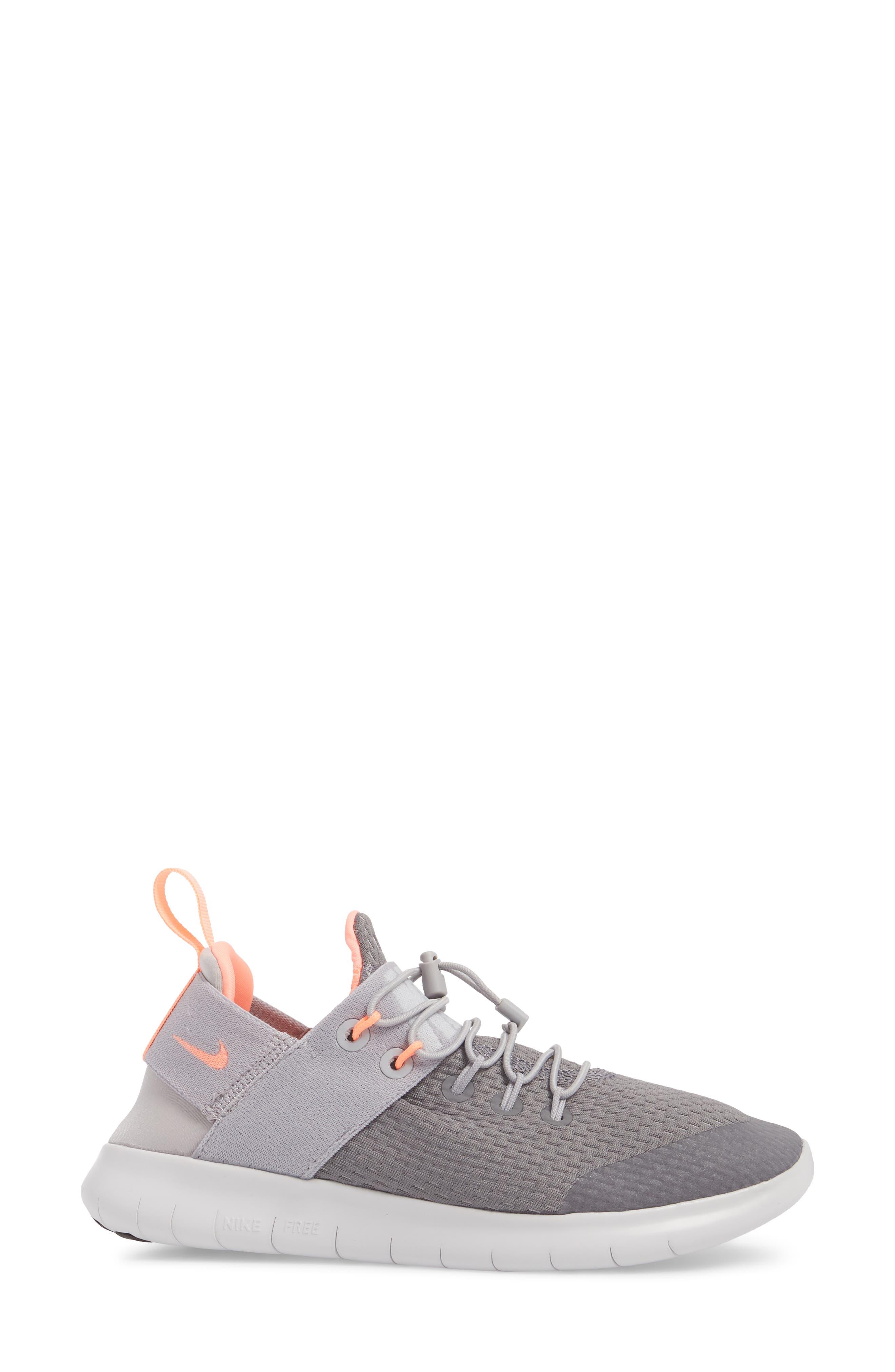 Free RN CMTR Running Shoe,                             Alternate thumbnail 3, color,                             Gunsmoke/ Crimson Pulse