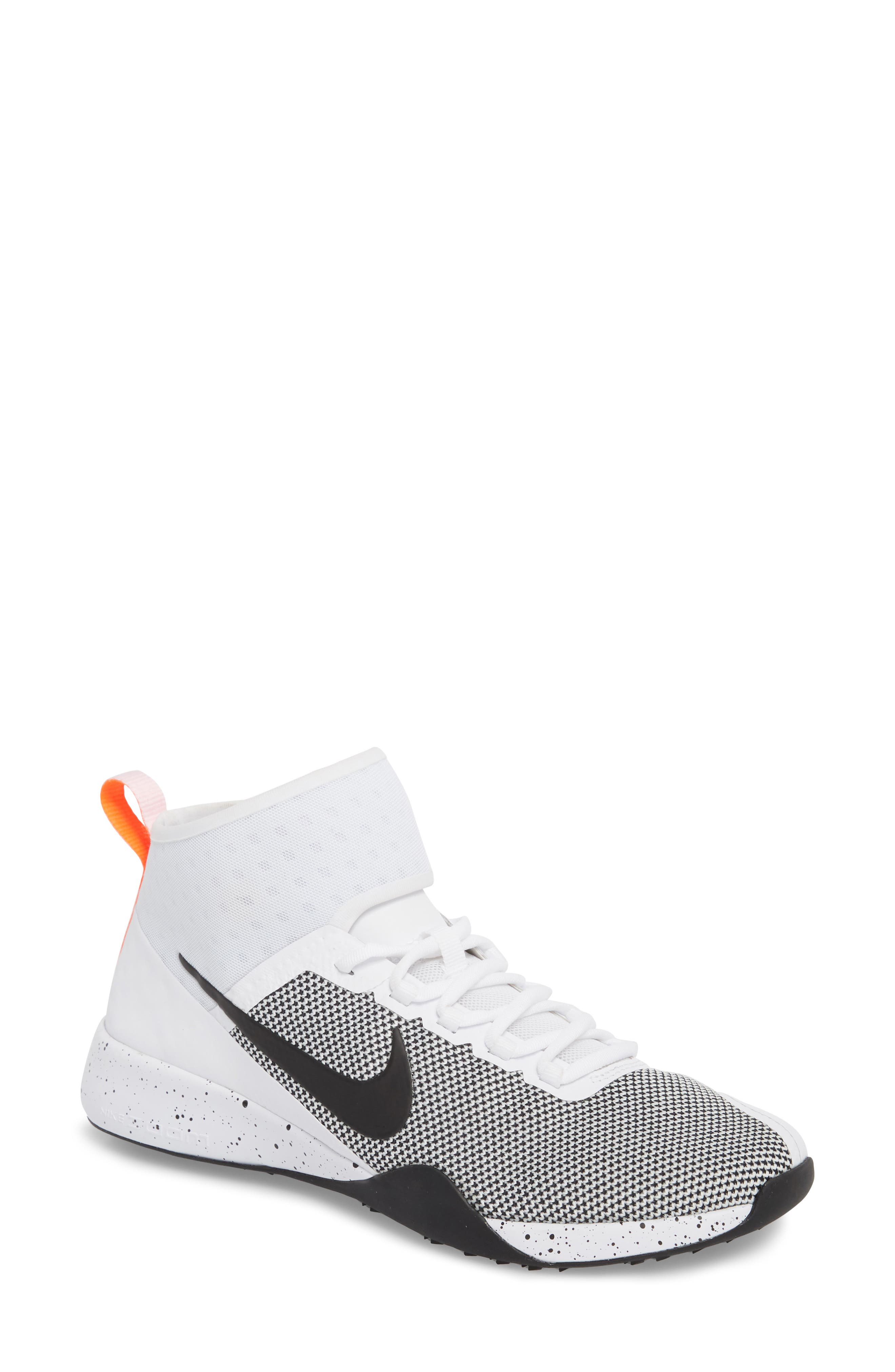NikeLab Air Zoom Strong 2 Training Shoe,                         Main,                         color, White/ Black/ Total Crimson