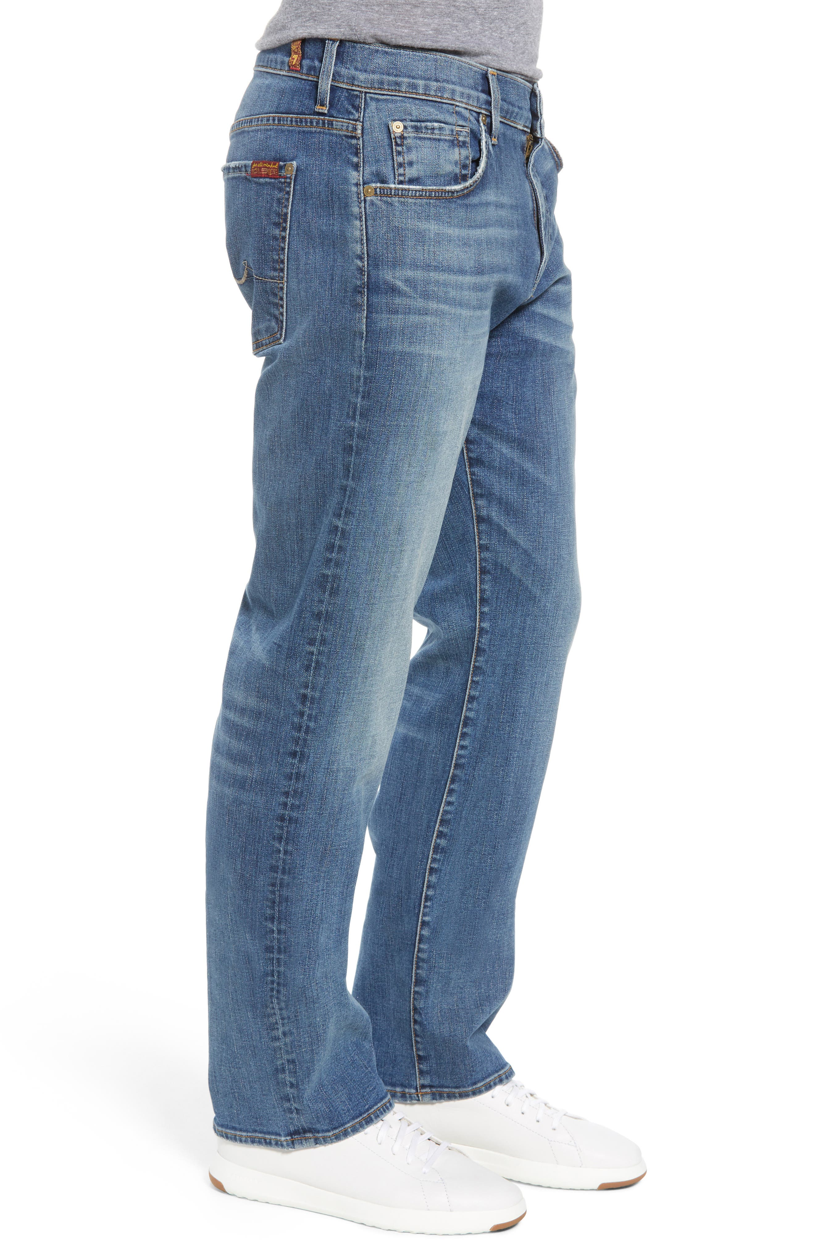 Luxe Performance - Austyn Relaxed Fit Jeans,                             Alternate thumbnail 3, color,                             Bedrock