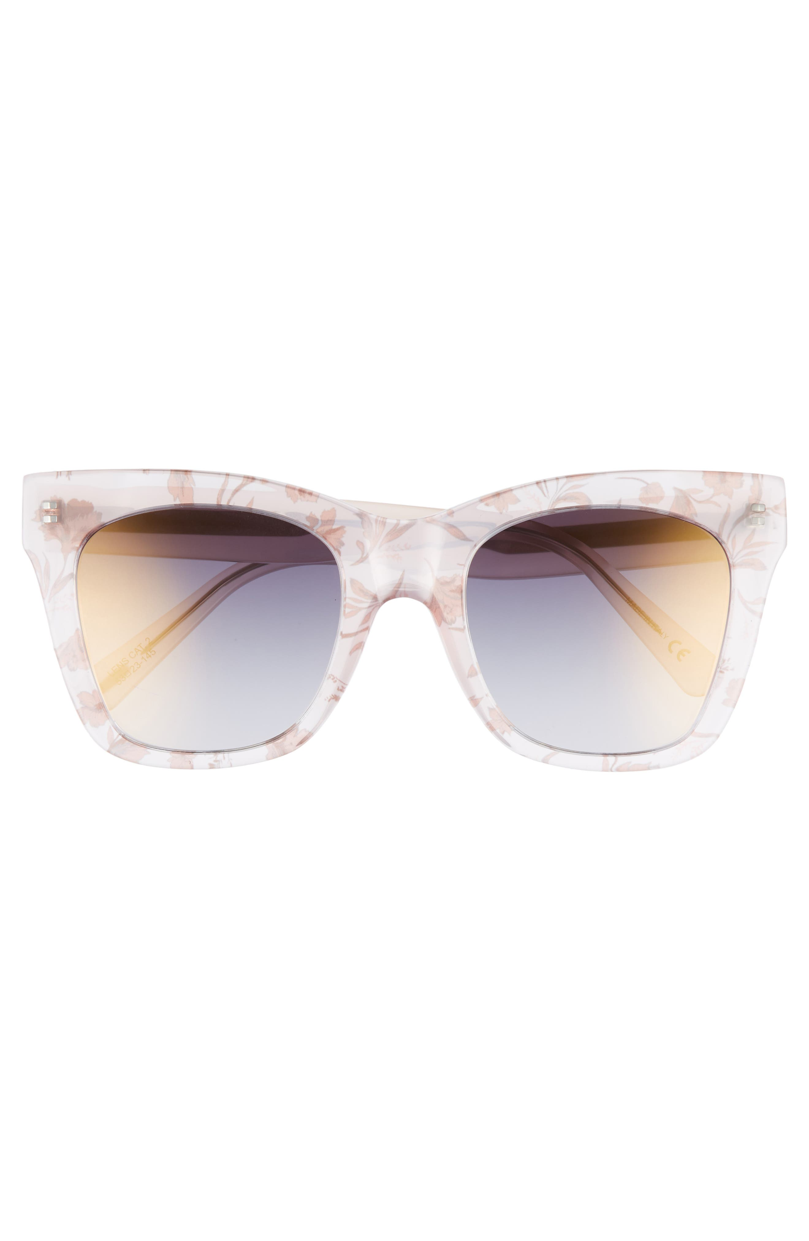 D'BLANC Beach Vida 52mm Sunglasses,                             Alternate thumbnail 3, color,                             Something Nice