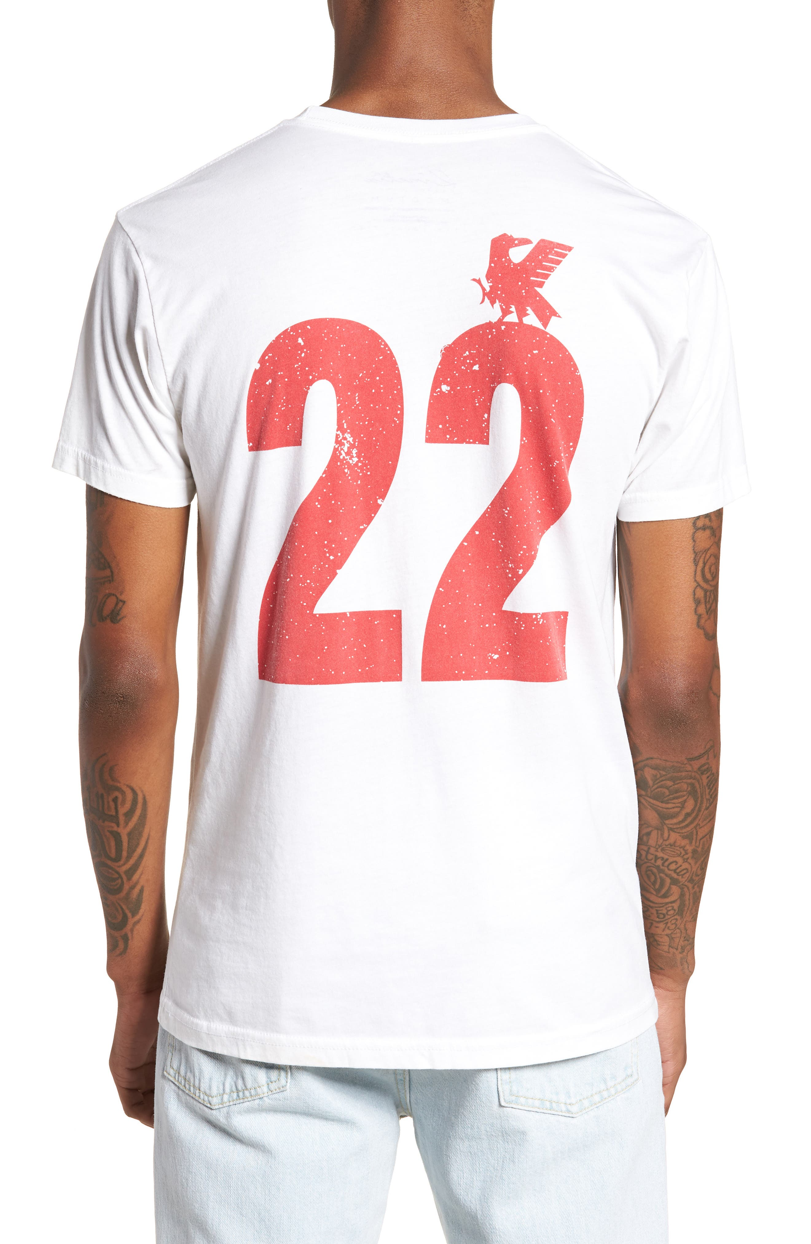 Japan Jersey T-Shirt,                             Alternate thumbnail 2, color,                             White