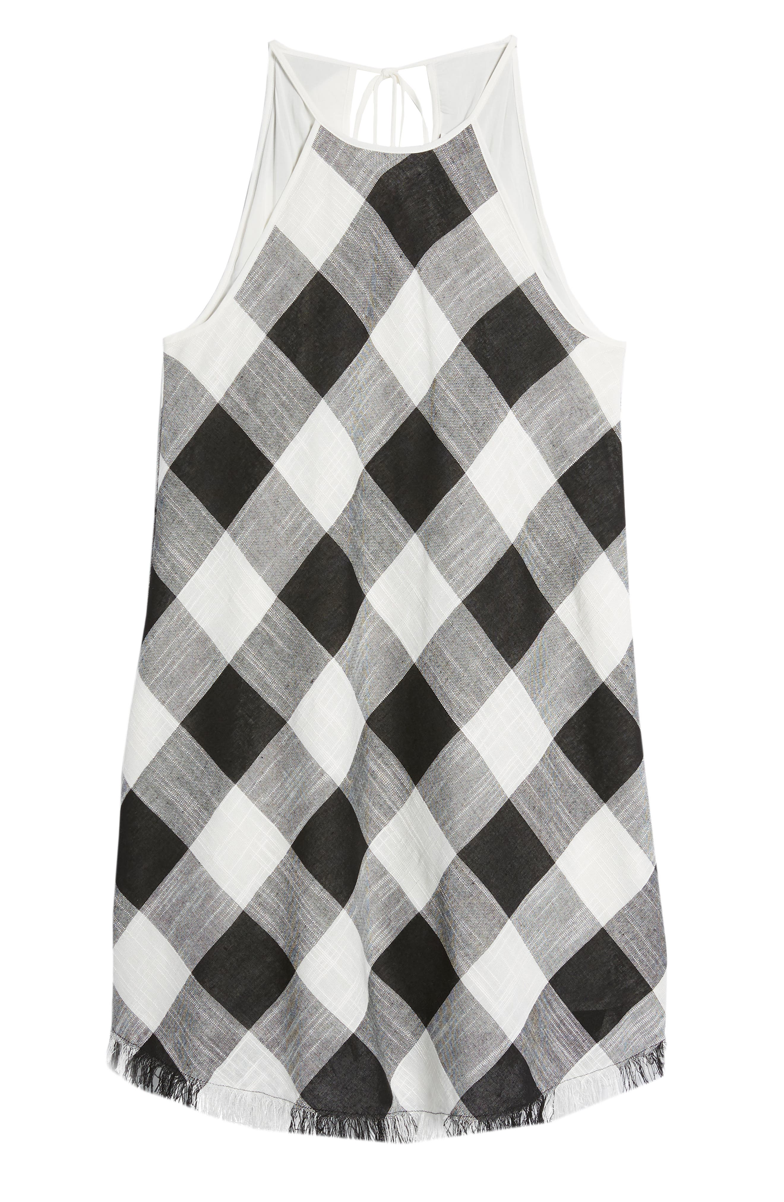Bishop + Young Gingham Shift Dress,                             Alternate thumbnail 7, color,                             Assorted