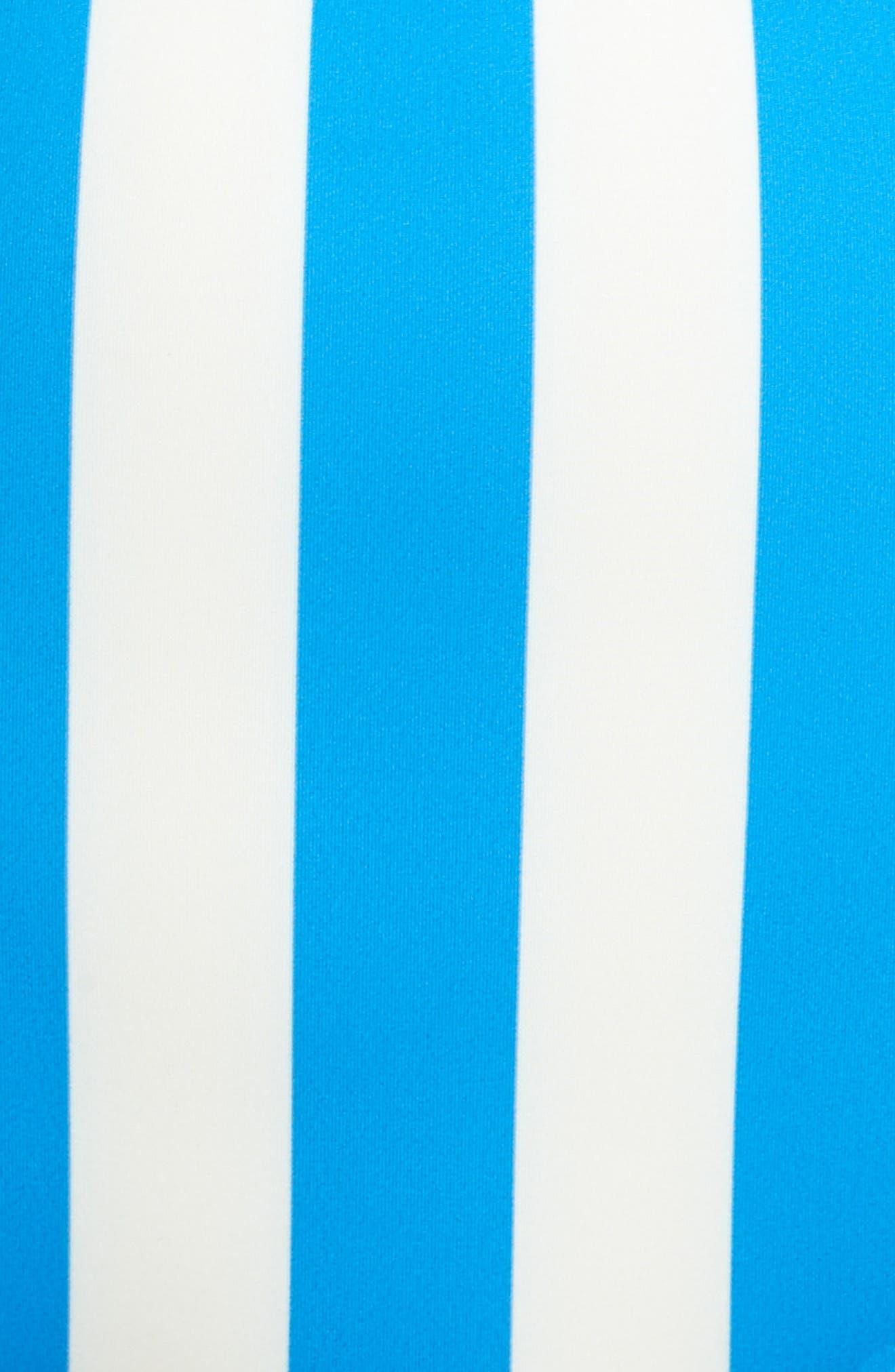 The Brigitte Swim Briefs,                             Alternate thumbnail 5, color,                             Sea Stripe