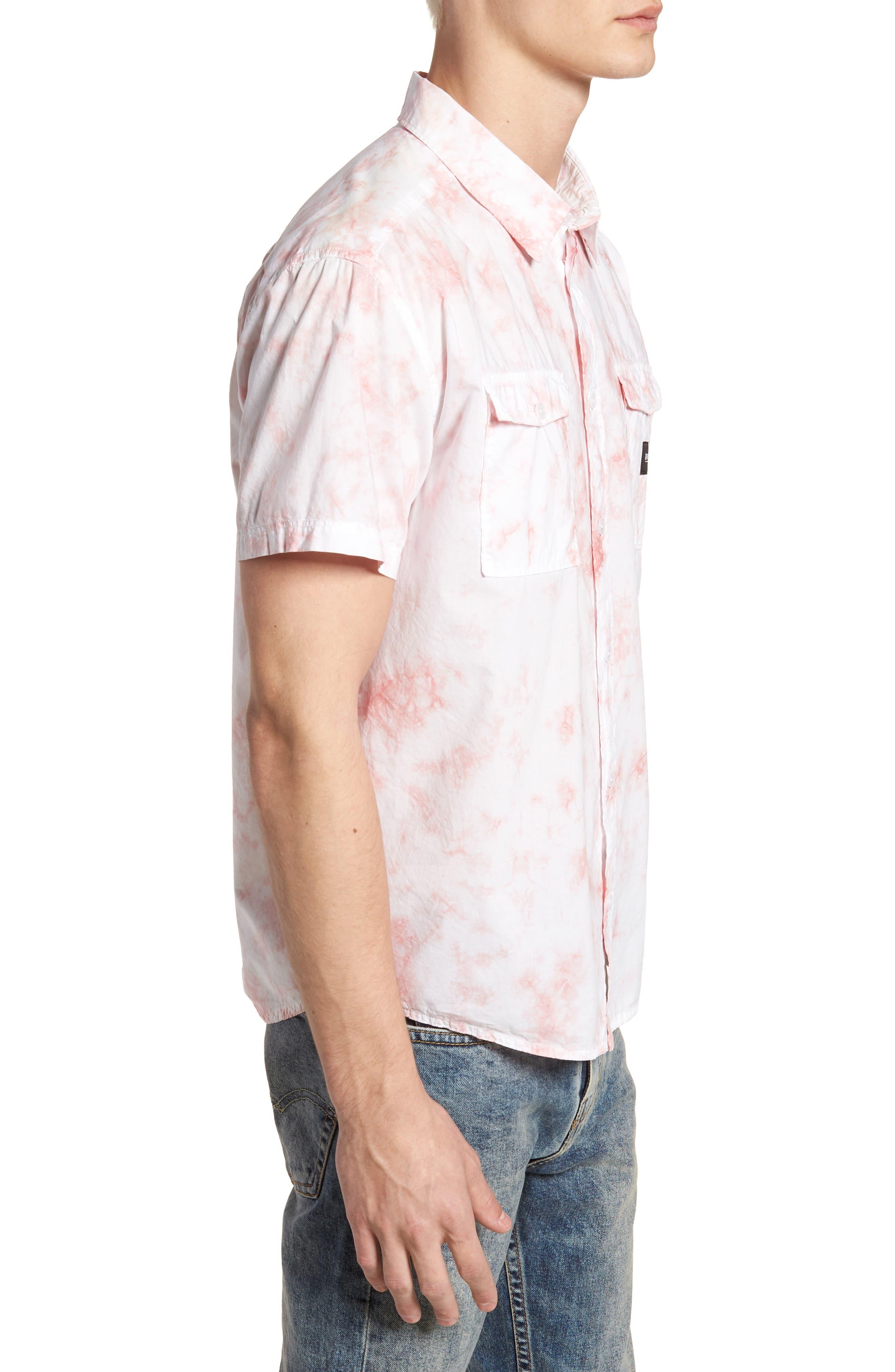 Alternate Image 4  - RVCA Destroy Woven Shirt