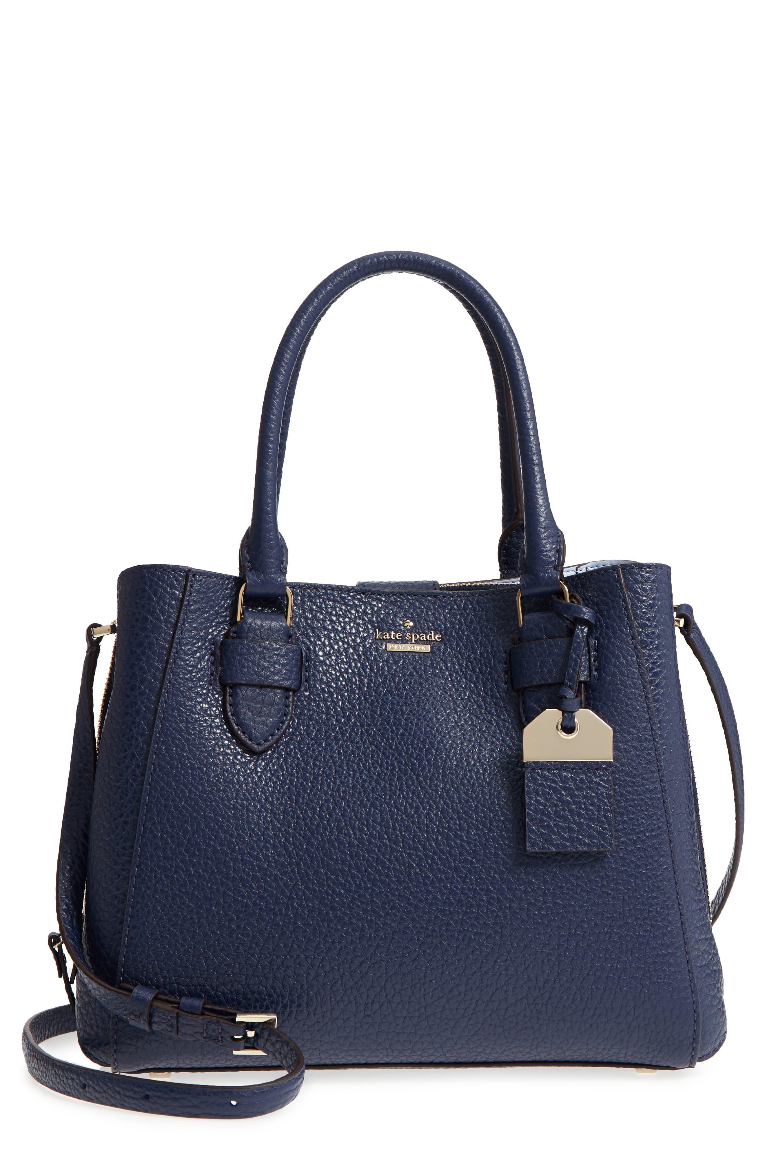 kate spade new york carter street - aliana leather satchel