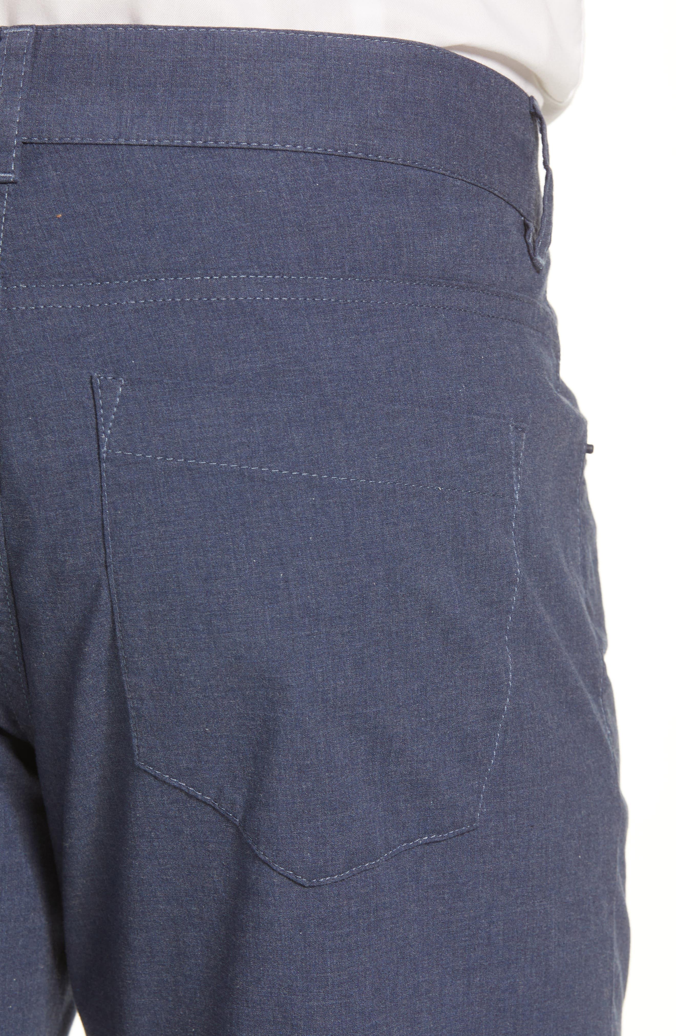 McKinney Regular Fit Straight Leg Pants,                             Alternate thumbnail 4, color,                             Blue