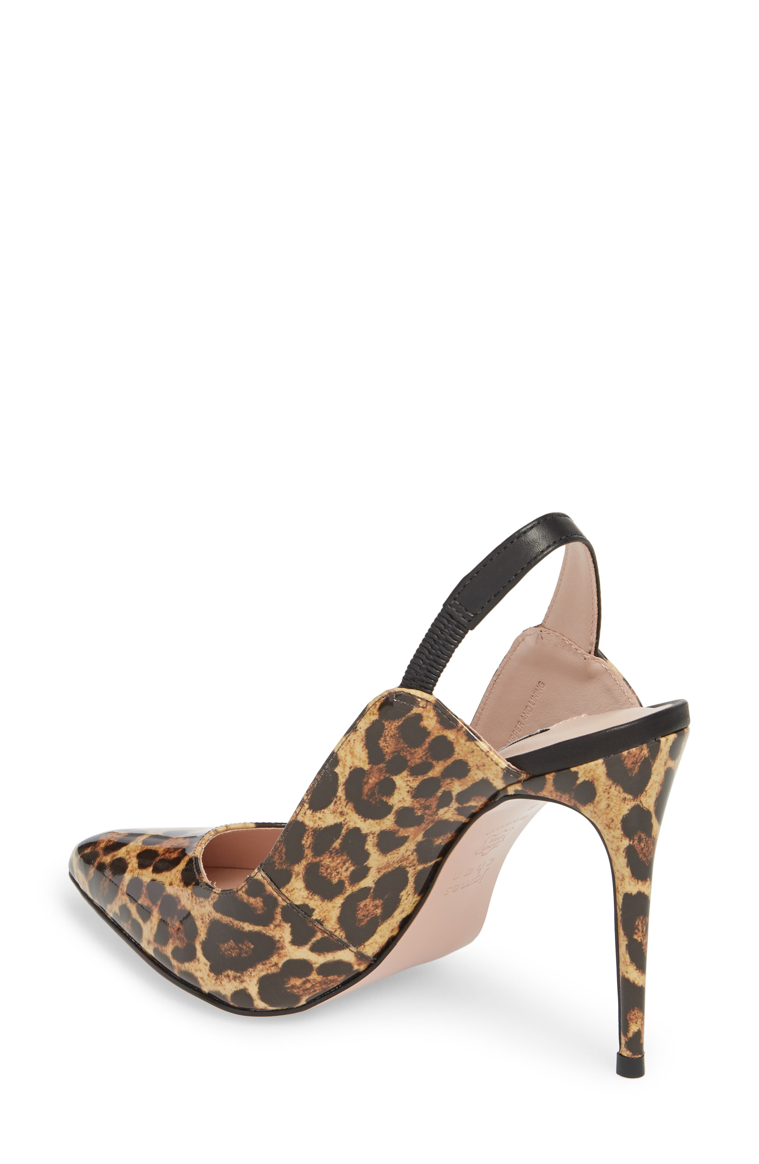 Alice Pointy Toe Pump,                             Alternate thumbnail 2, color,                             Leopard Leather