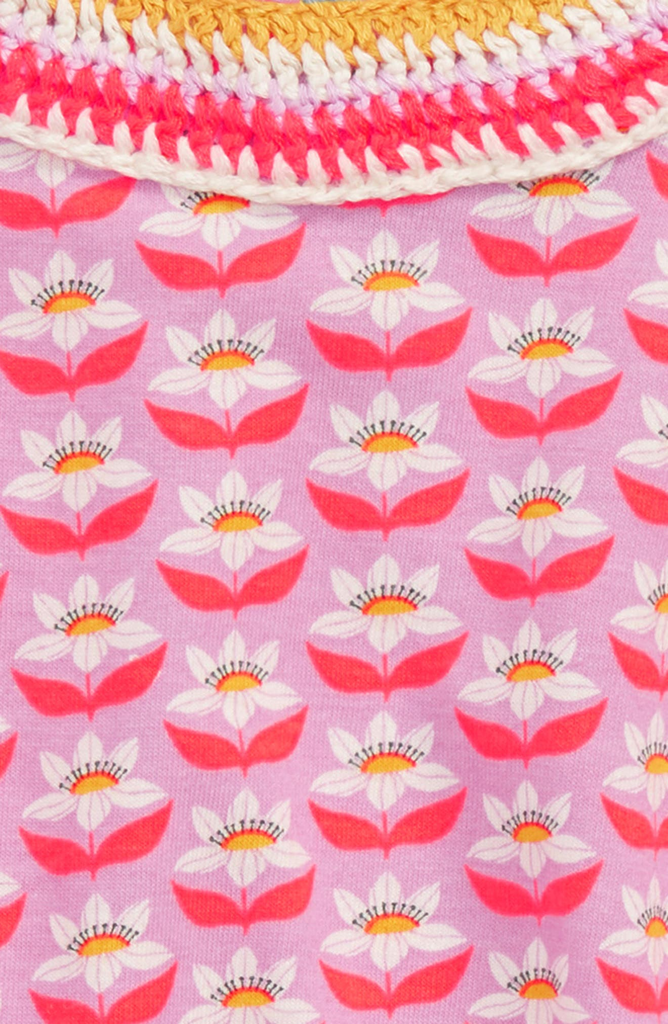 Print Jersey Tank,                             Alternate thumbnail 2, color,                             Cypher Purple Lotus Flower Prp