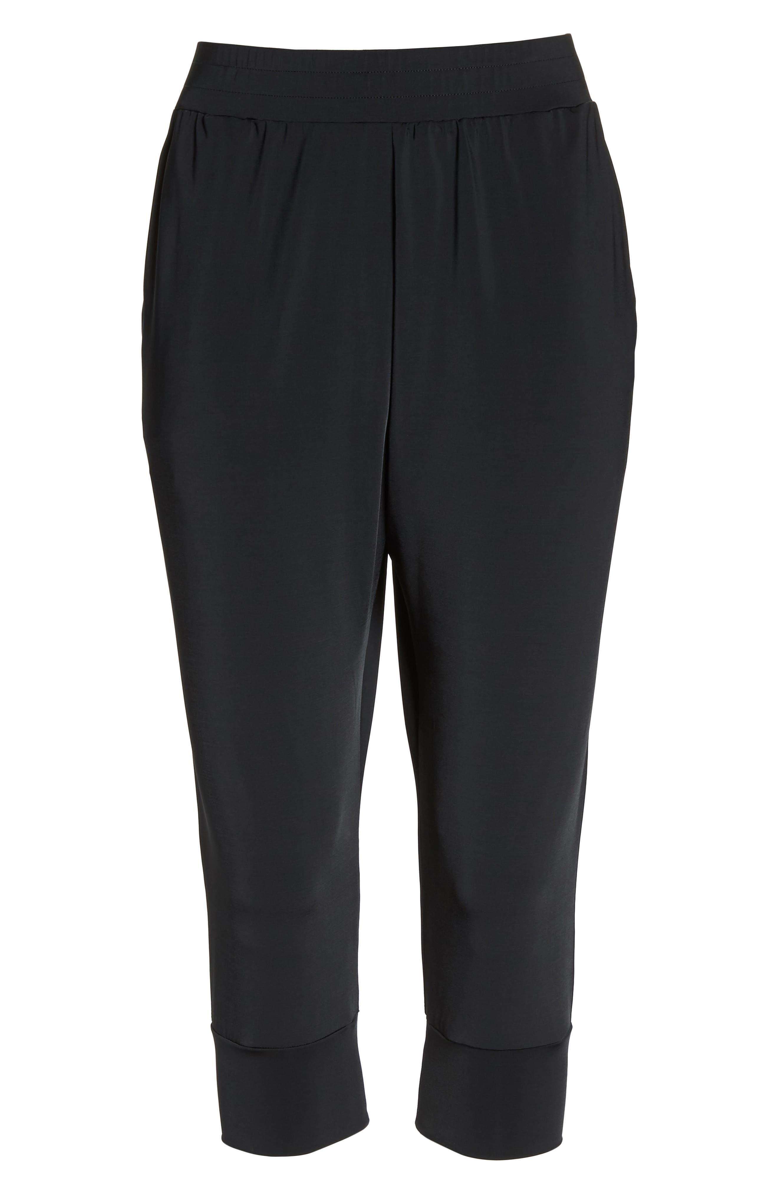 Dry Touch Training Pants,                             Alternate thumbnail 7, color,                             Black/ Black