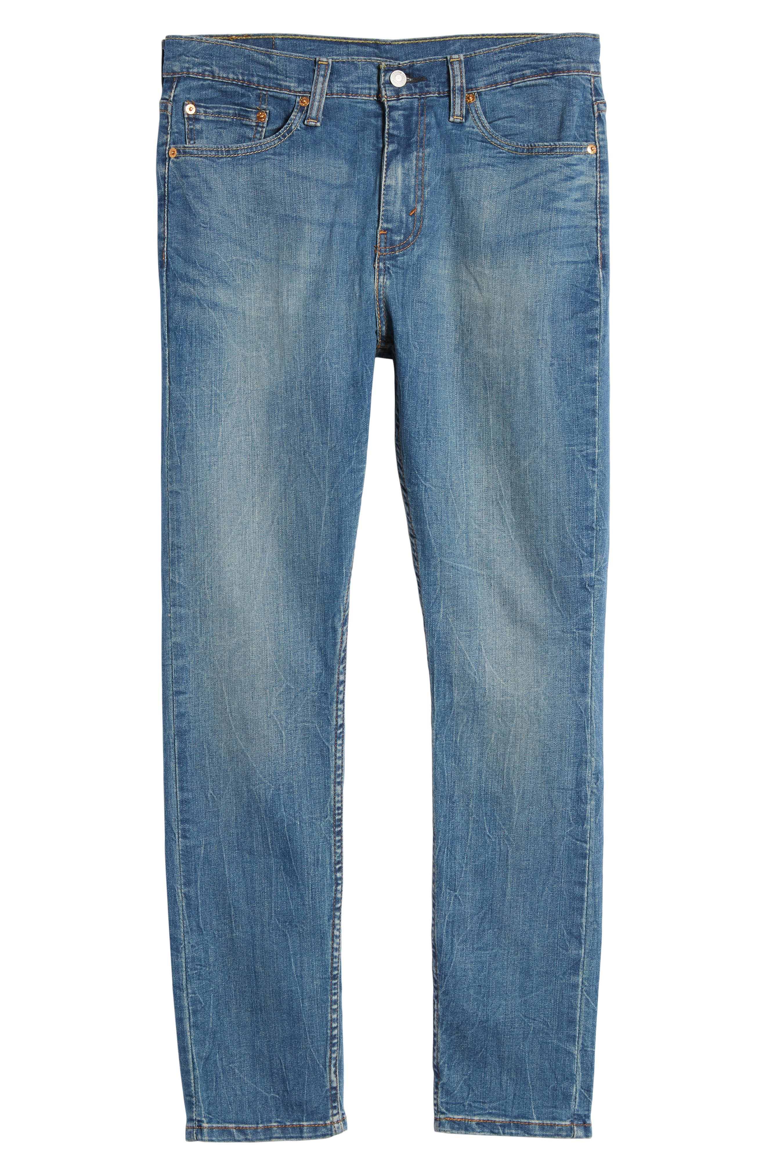510<sup>™</sup> Skinny Fit Jeans,                             Alternate thumbnail 6, color,                             Lake Anza