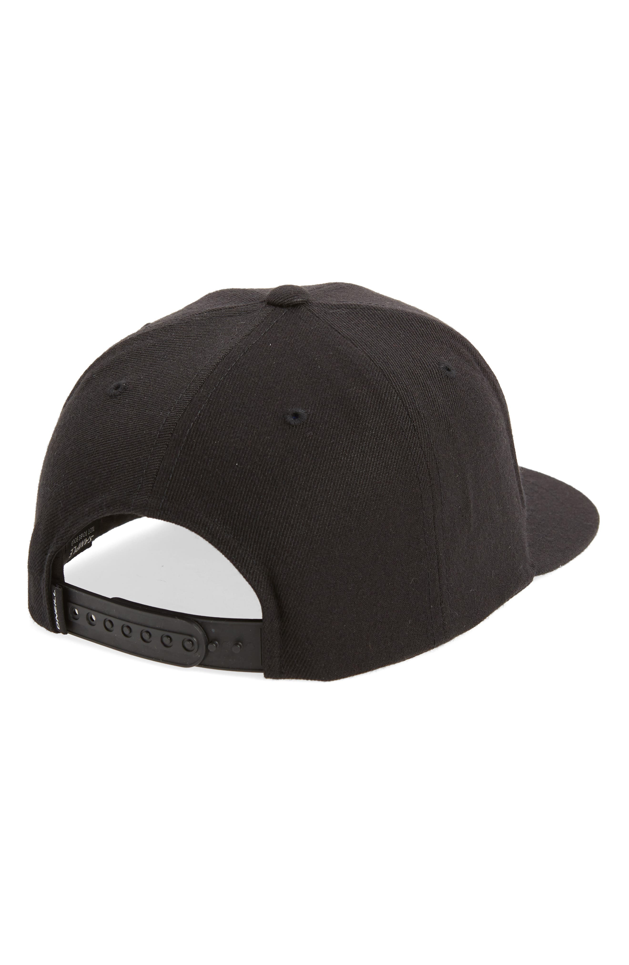 Wave Core Baseball Cap,                             Alternate thumbnail 2, color,                             Black