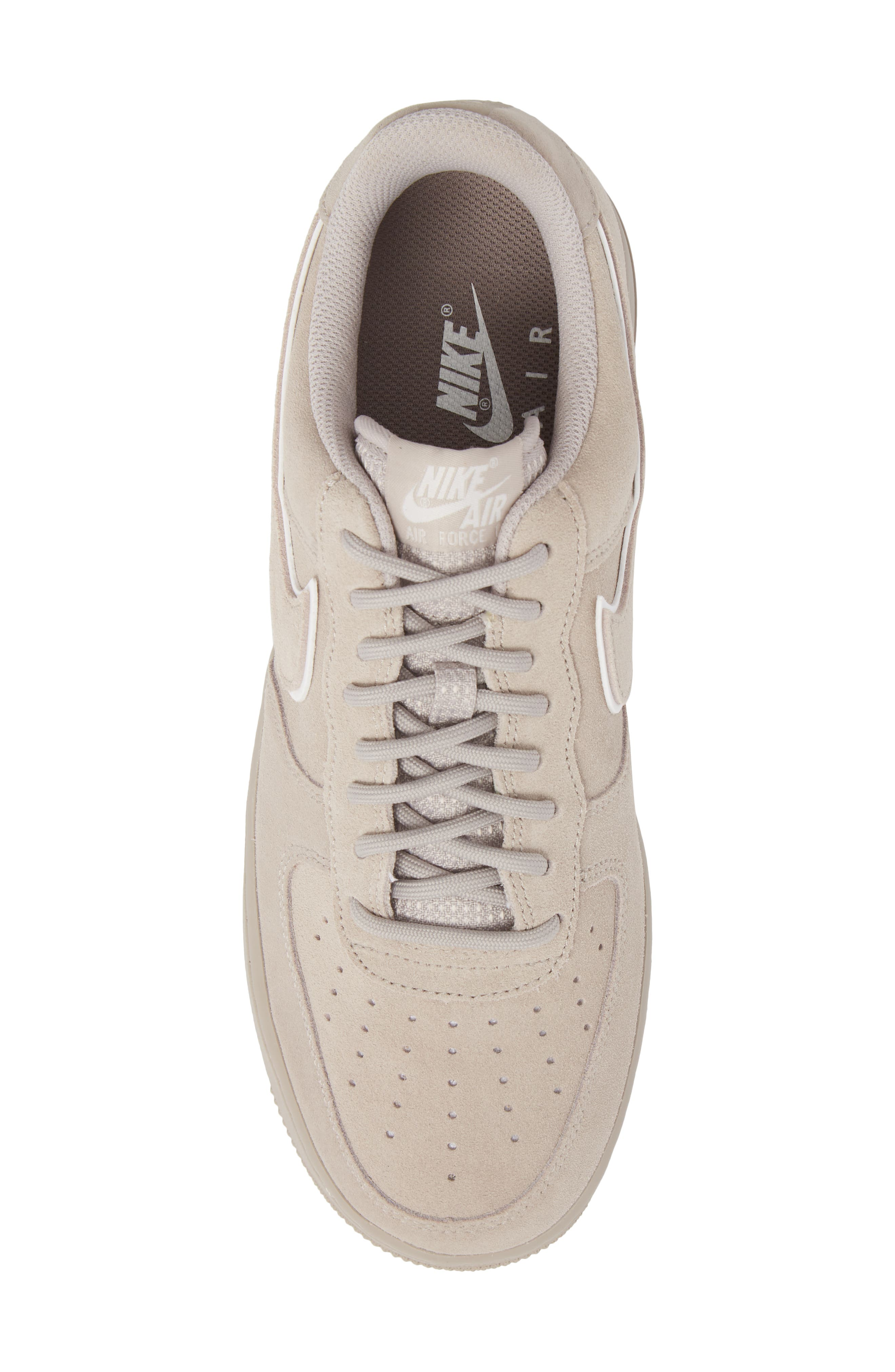 Air Force 1 '07 Low LV8 Sneaker,                             Alternate thumbnail 5, color,                             Moon Particle/ Sepia Stone